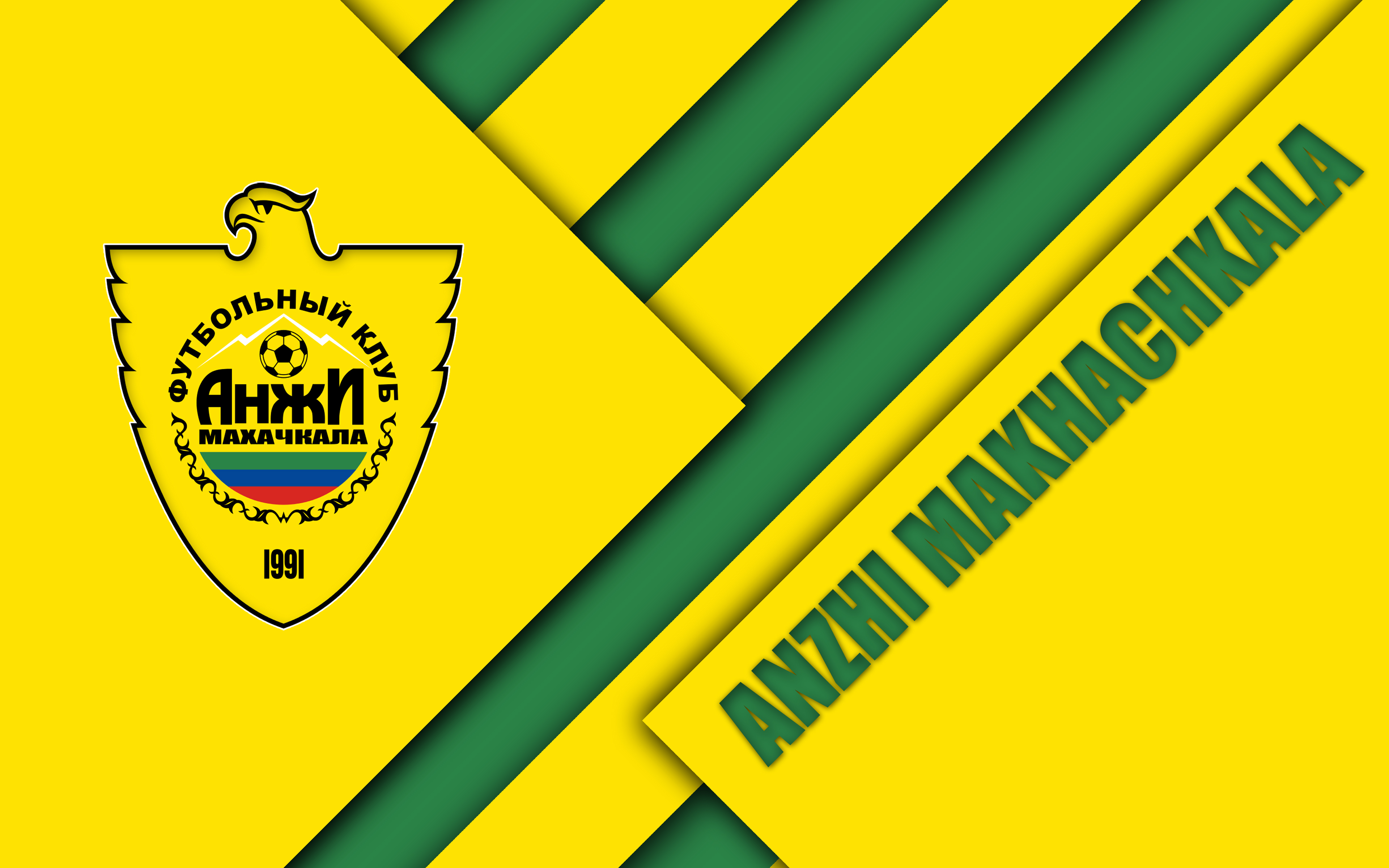 Emblem Fc Anzhi Makhachkala Logo Soccer 3840x2400
