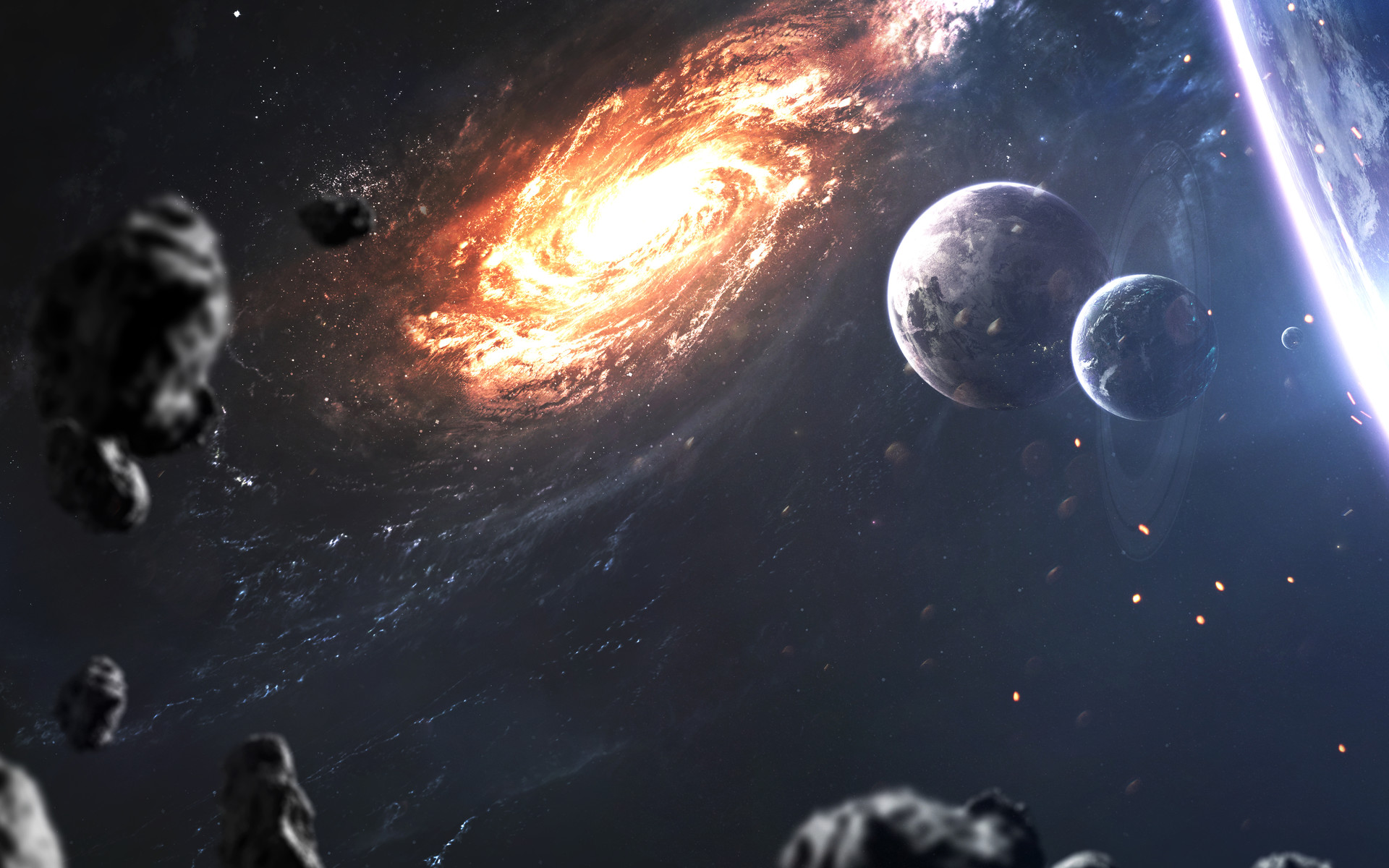 Sci Fi Galaxy 1920x1200