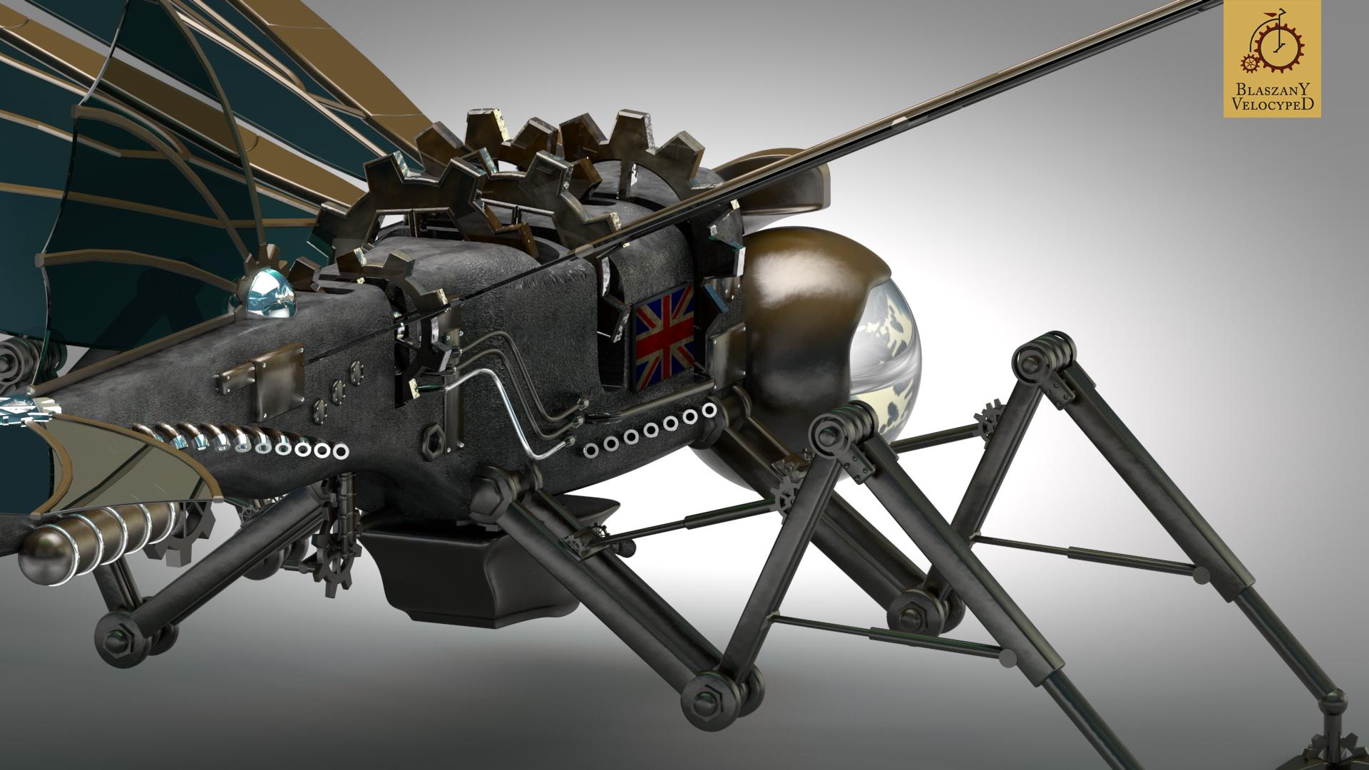 Sci Fi Robot 1920x1080