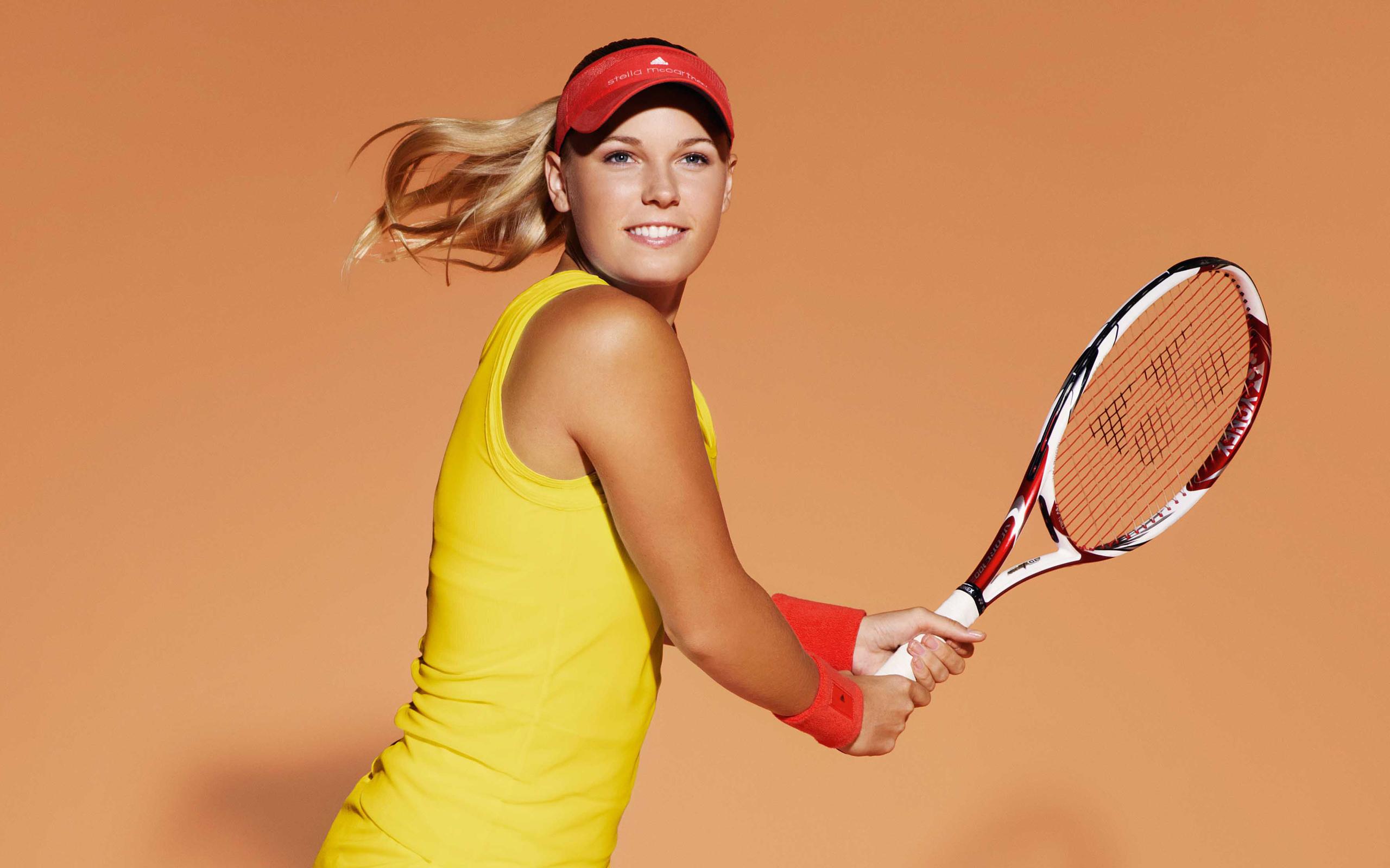 Caroline Wozniacki Danish Tennis 2560x1600