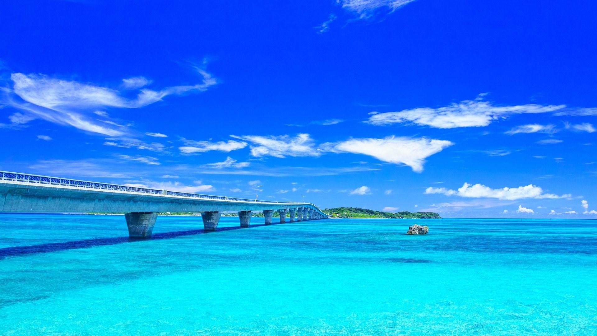 Bridge Ocean 1920x1080