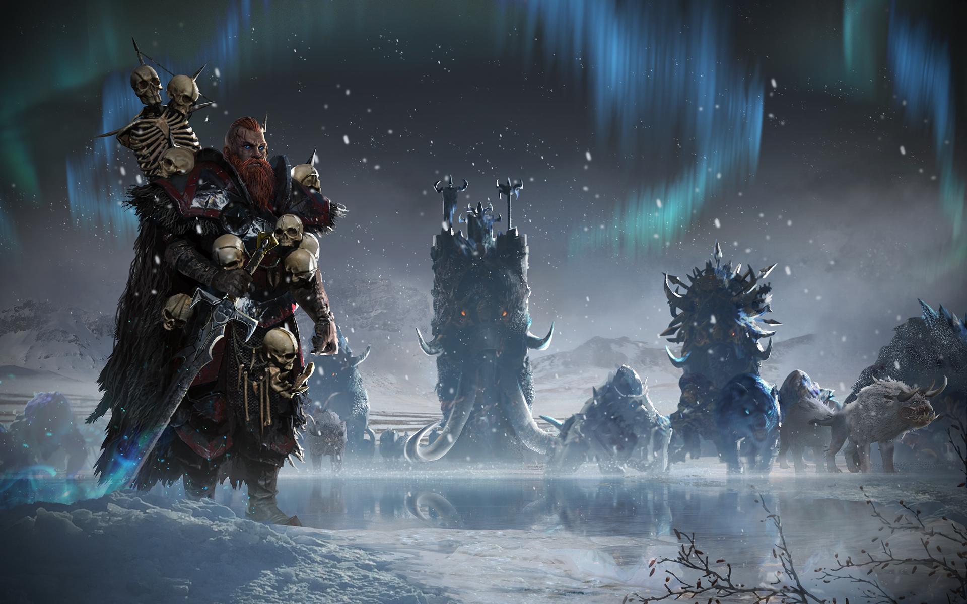 Fantasy Norsca Total War Warhammer Total War Warhammer 1920x1200