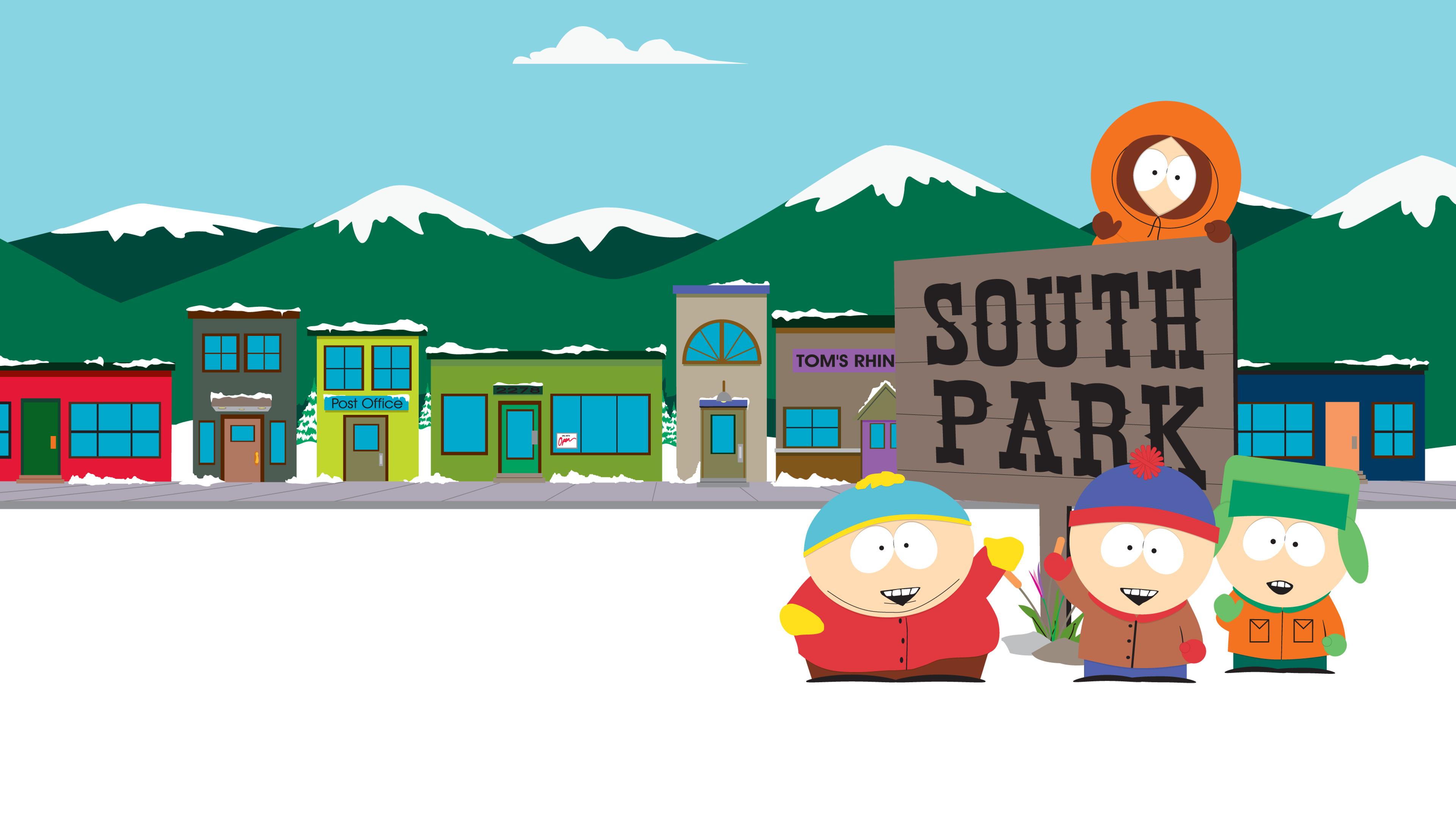 Eric Cartman Kenny Mccormick Kyle Broflovski Stan Marsh 3840x2160
