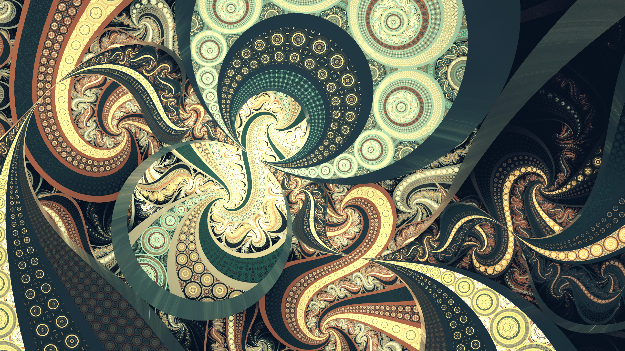Abstract Fractal 2560x1440