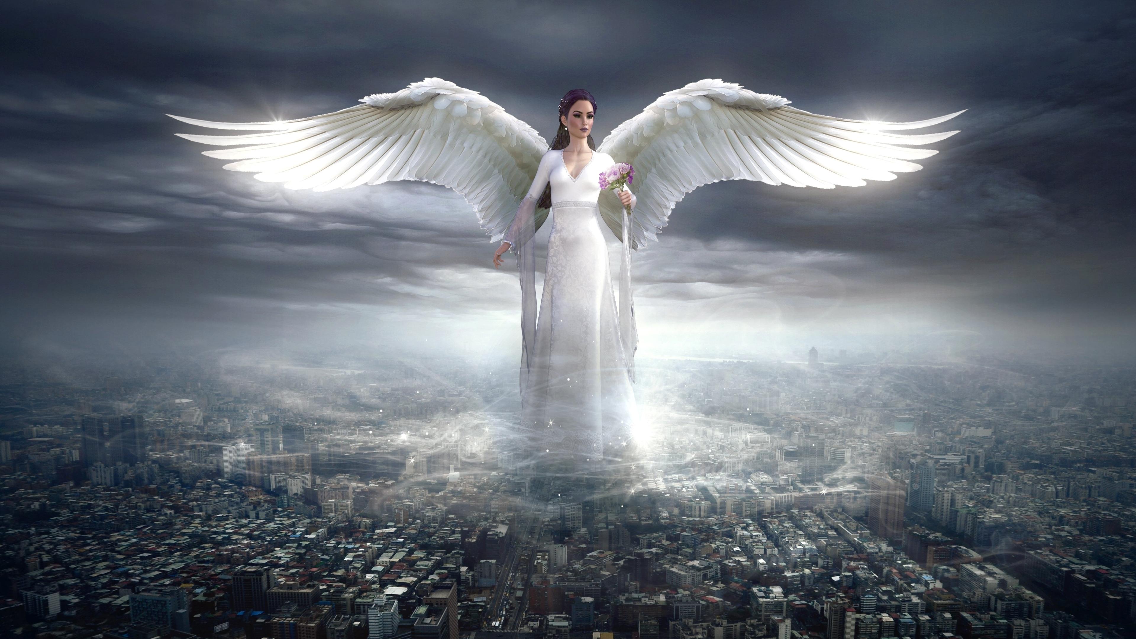 Fantasy Angel 3840x2160