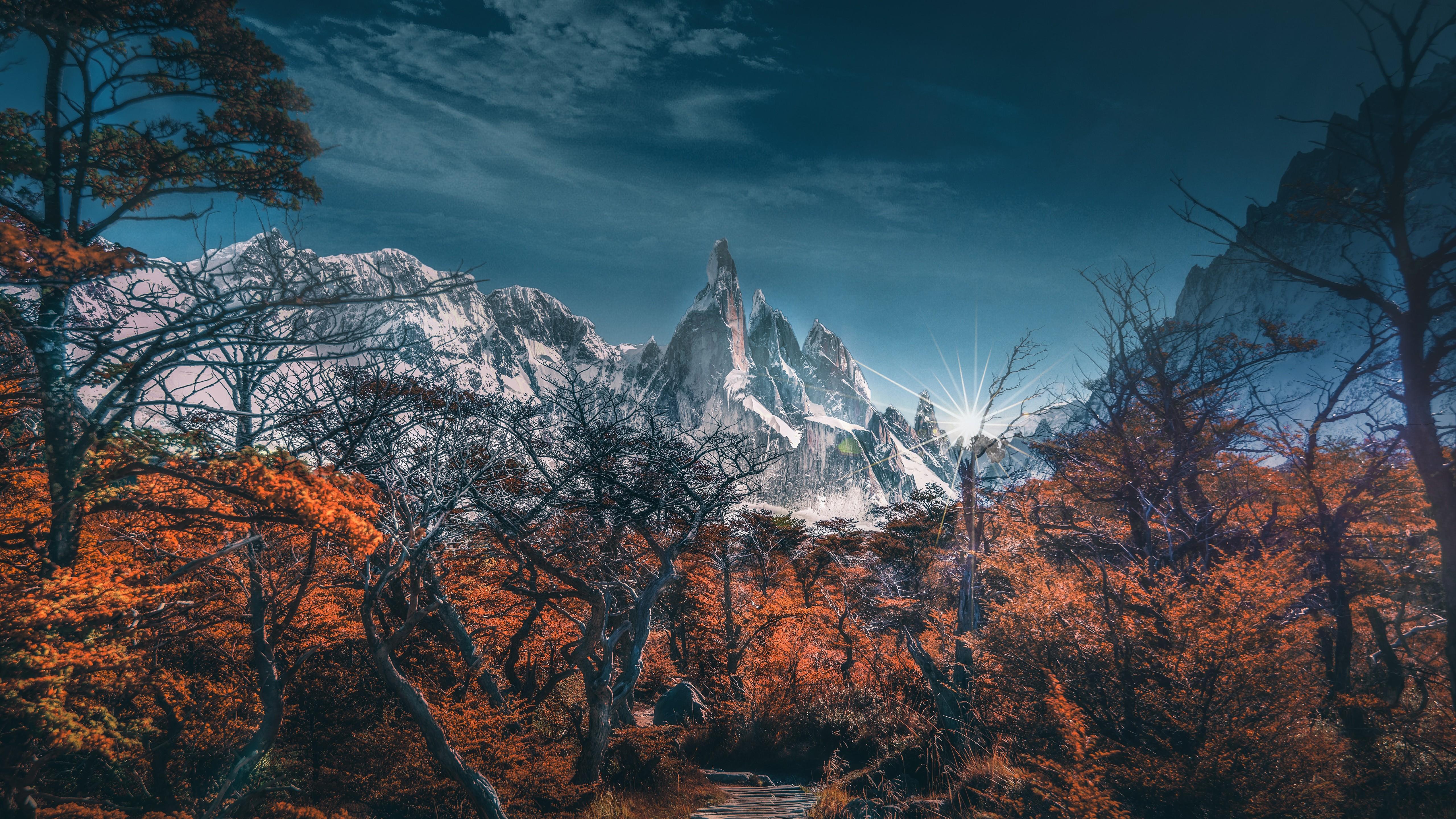 Mountain 5120x2880