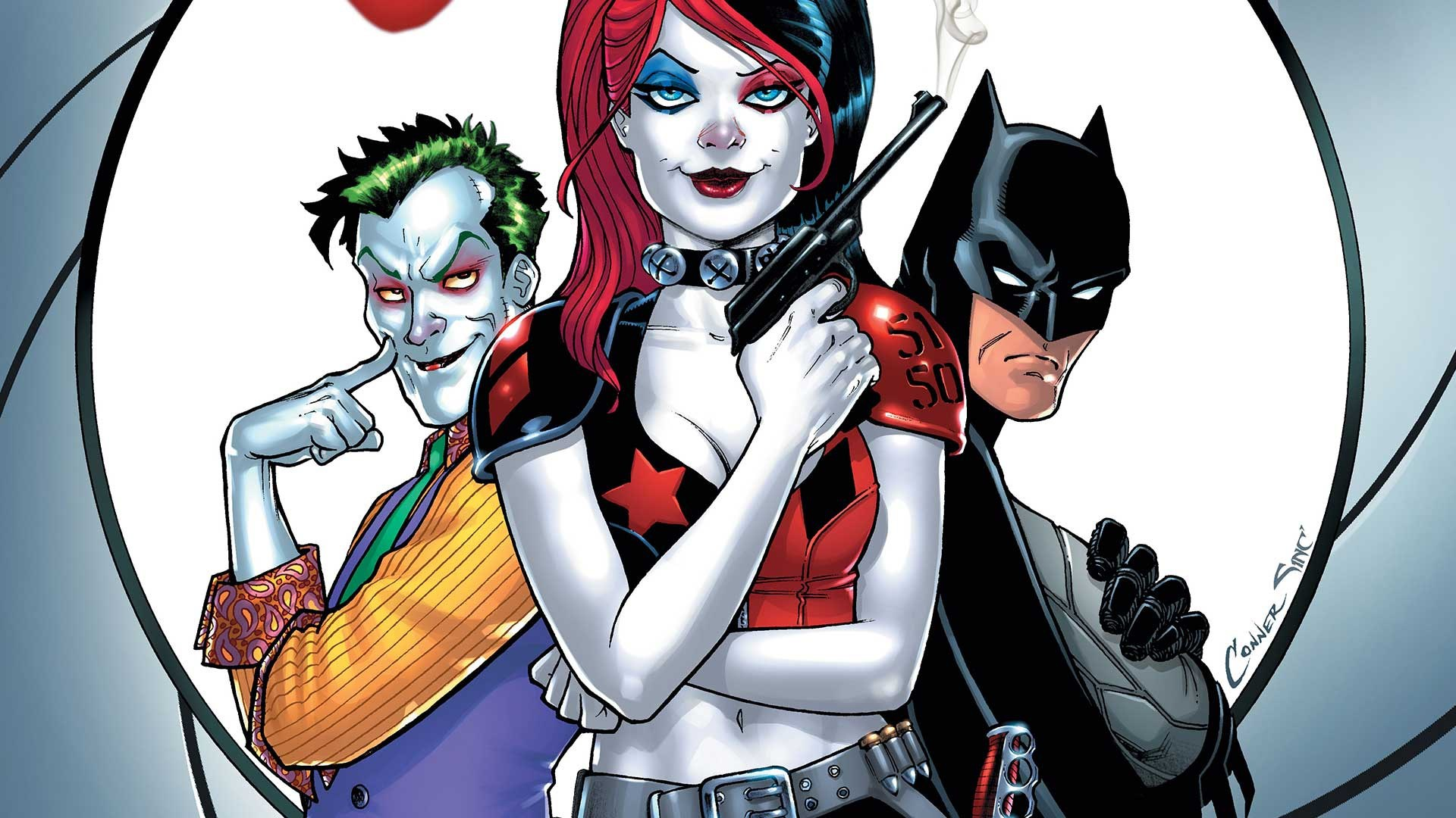 Batman Dc Comics Harley Quinn Joker 1920x1080