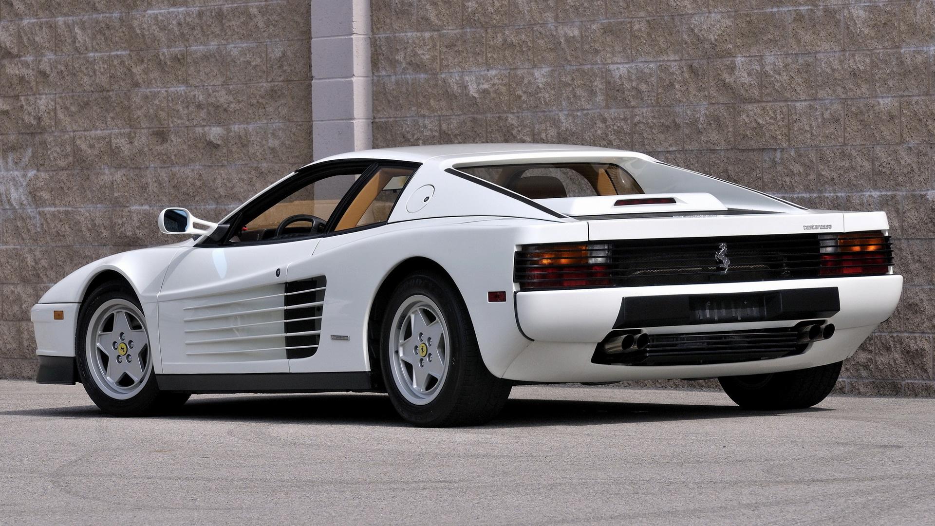 Car Ferrari Testarossa Old Car Sport Car White Car Wallpaper Resolution 1920x1080 Id 1149245 Wallha Com