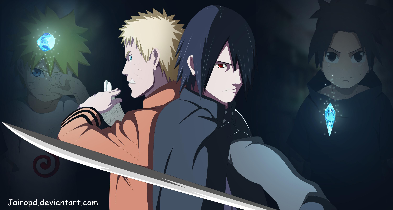 Boruto Anime Naruto Uzumaki Sasuke Uchiha 3000x1600