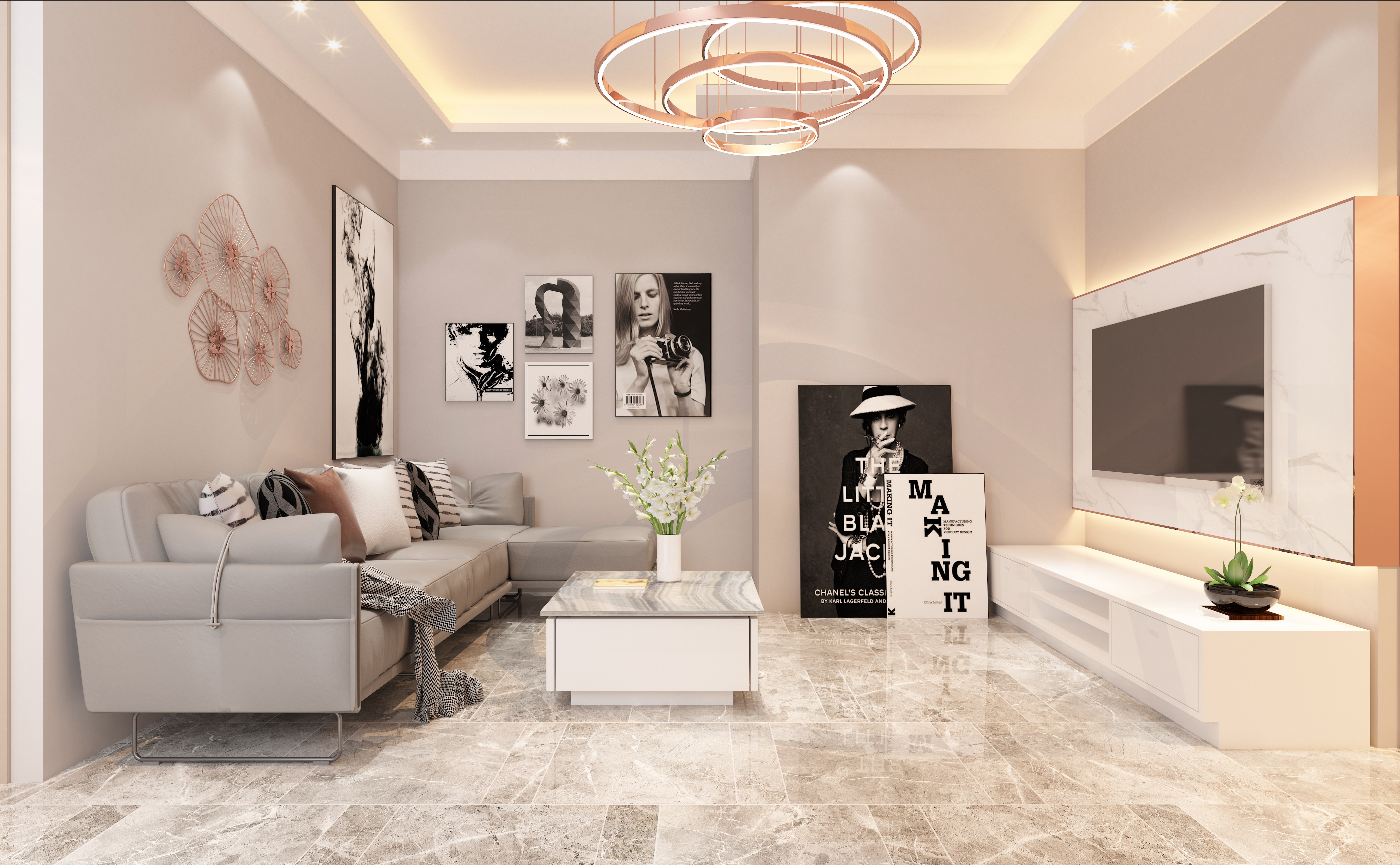 Furniture Living Room Lounge Room 5000x3088