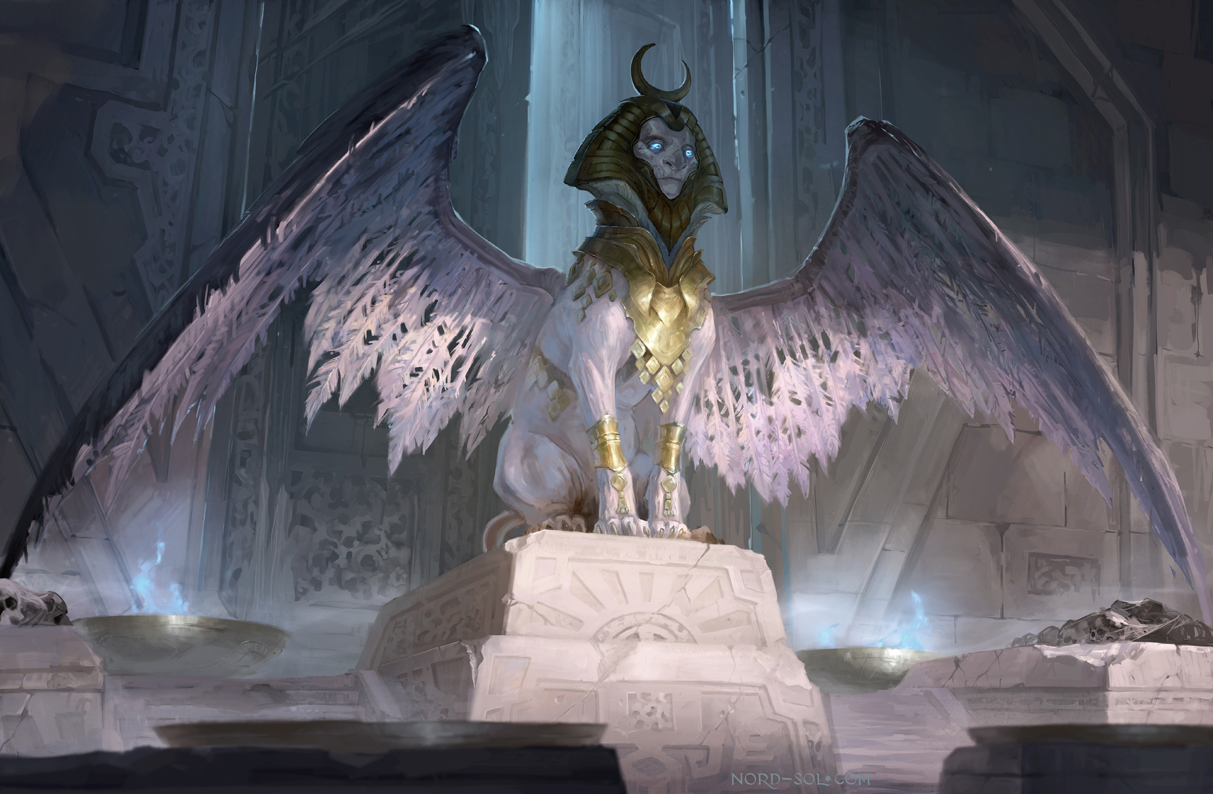 Creature Sphinx Wings 2475x1620
