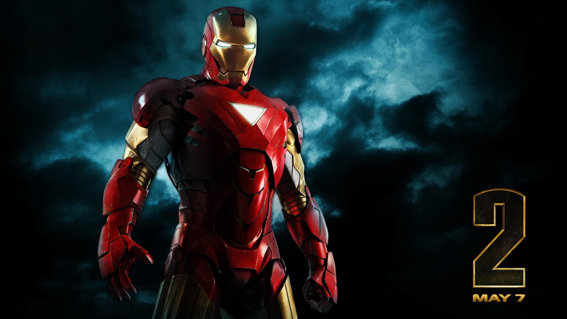 Iron Man Iron Man 2 Marvel Comics Superhero Tony Stark 1920x1080