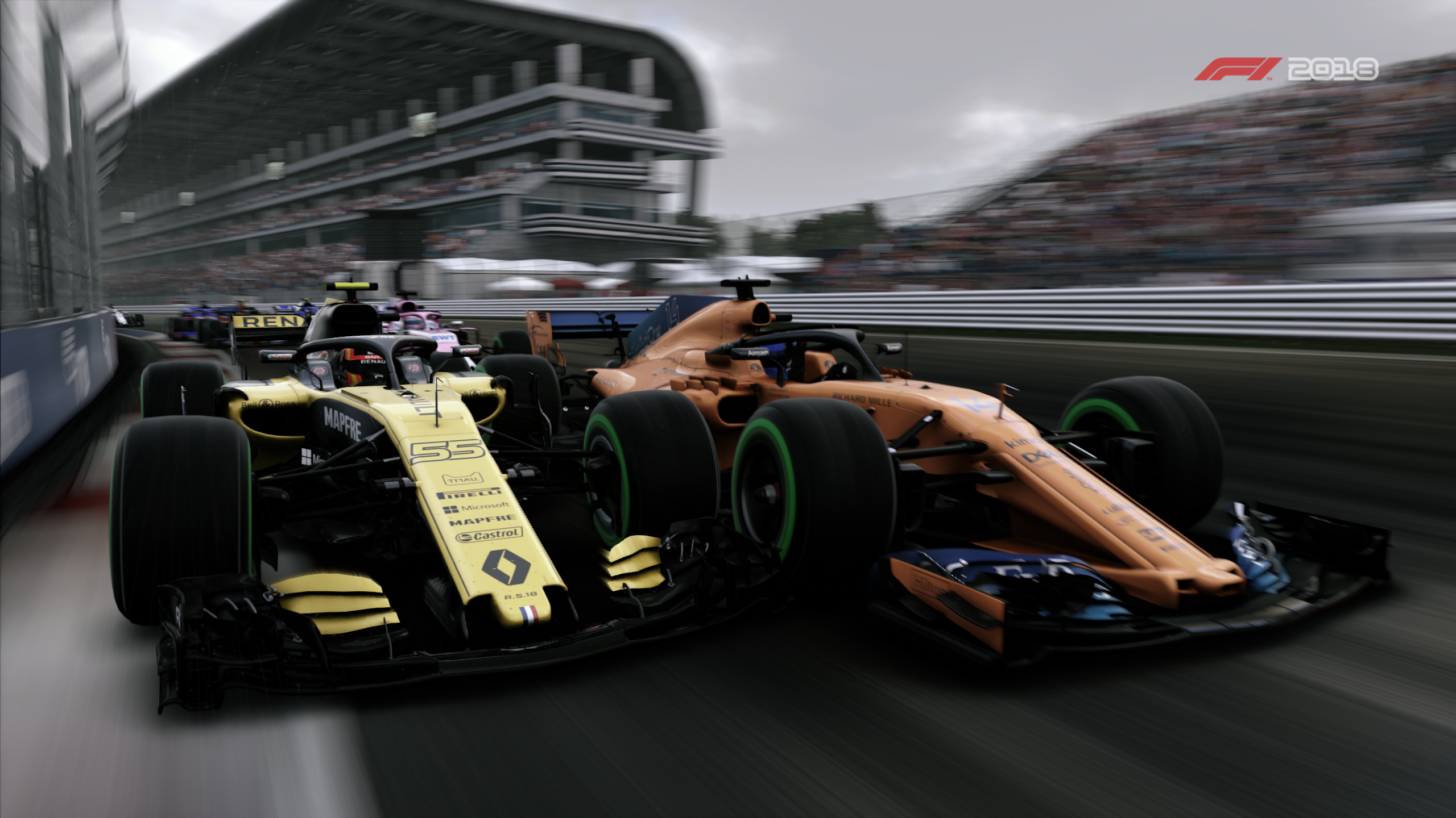 F1 2018 Formula 1 Mclaren Mclaren Mcl33 Renault Renault Rs18 Vehicle 2560x1440