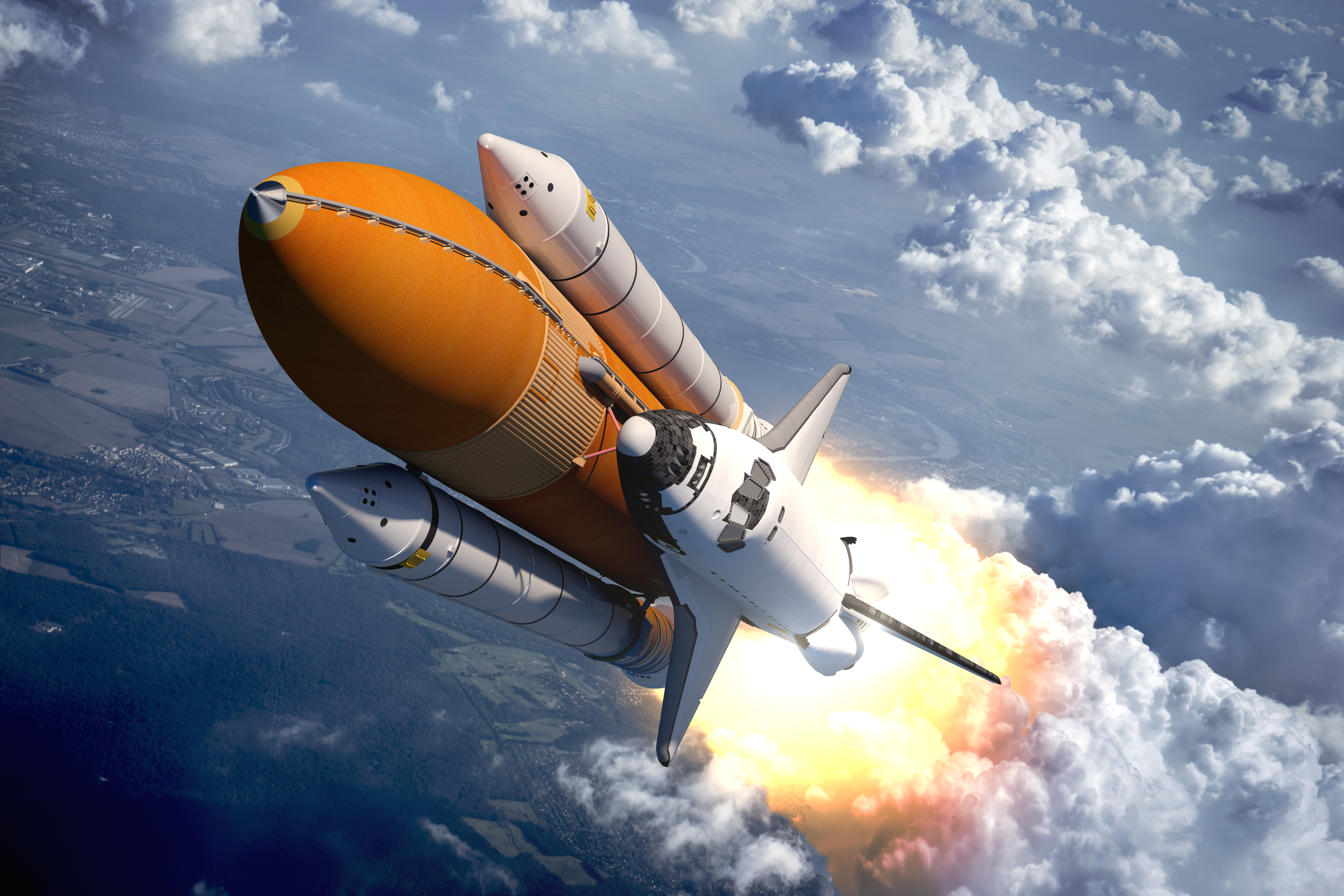 Vehicles Space Shuttle 6000x4000