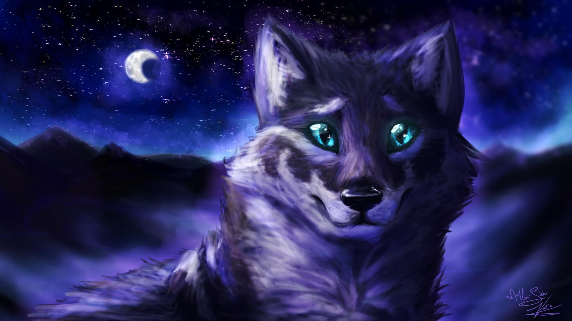 Night Wolf 1920x1080