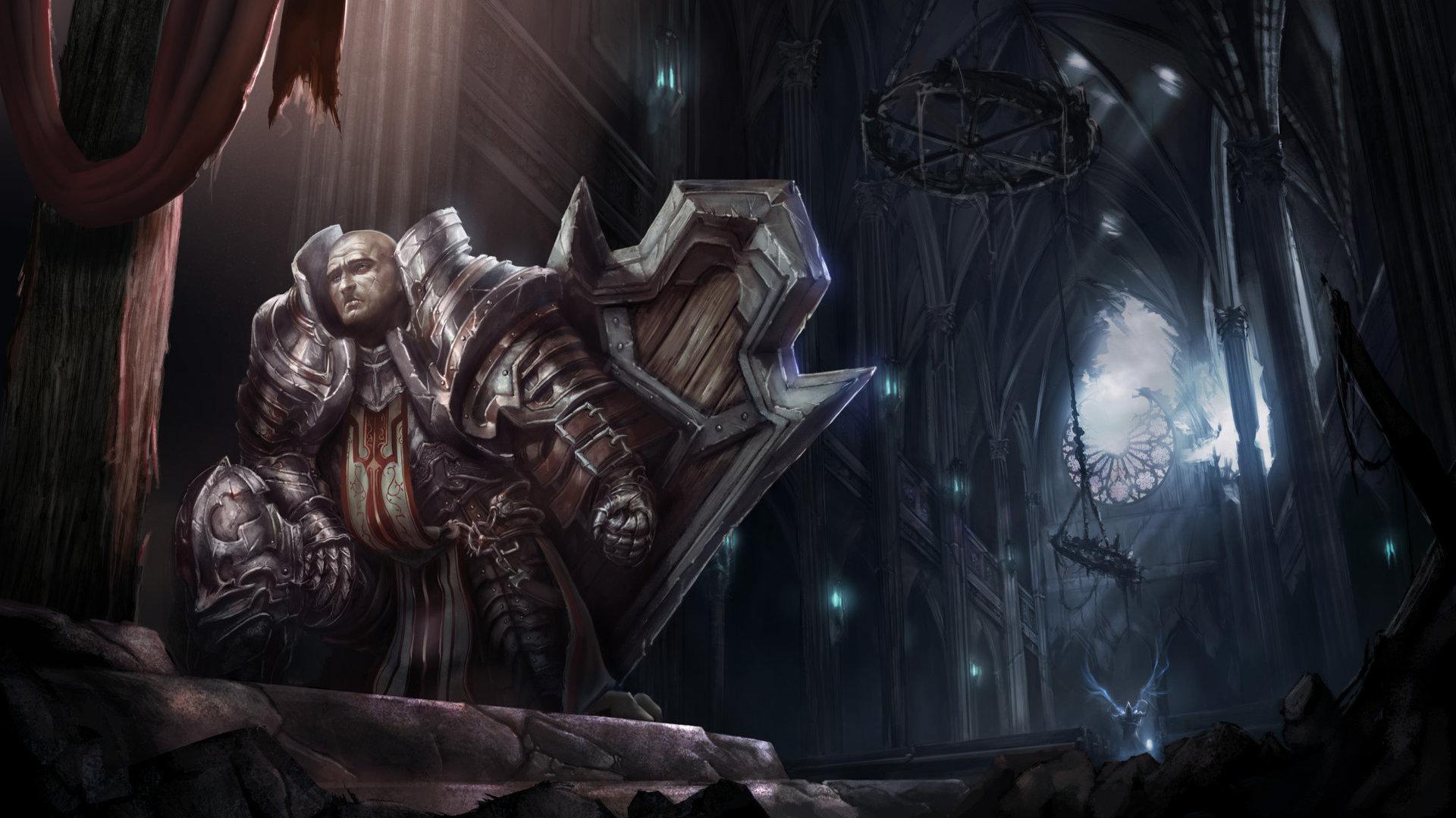 Armor Crusader Diablo Iii 1920x1080