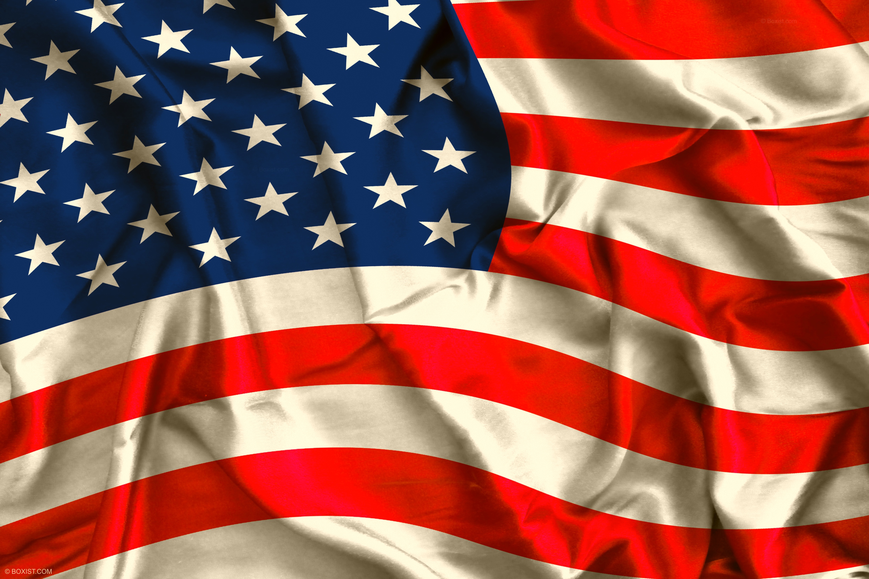 American Flag Flag USA Abstract 3000x2000