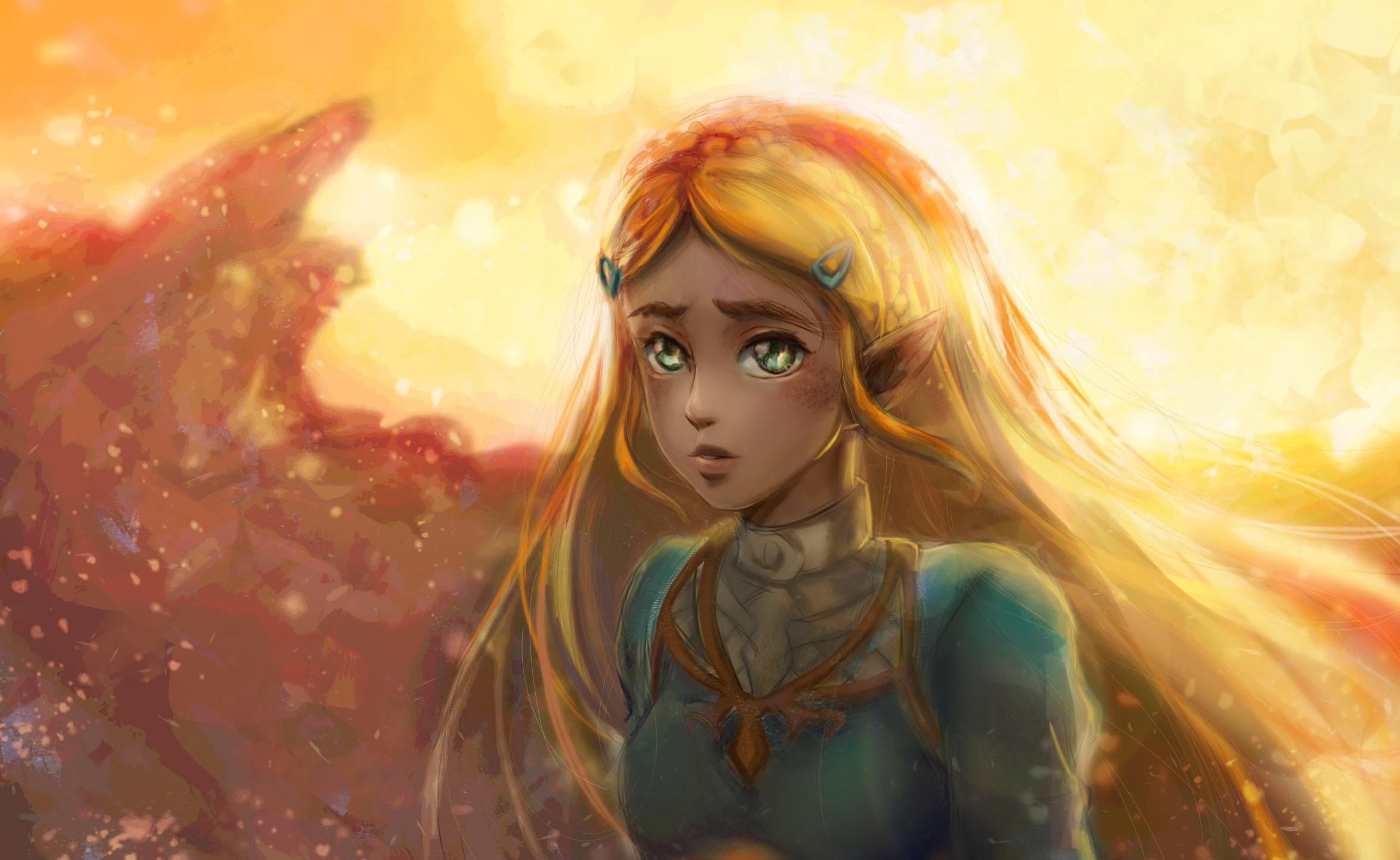 The Legend Of Zelda Zelda 2349x1443