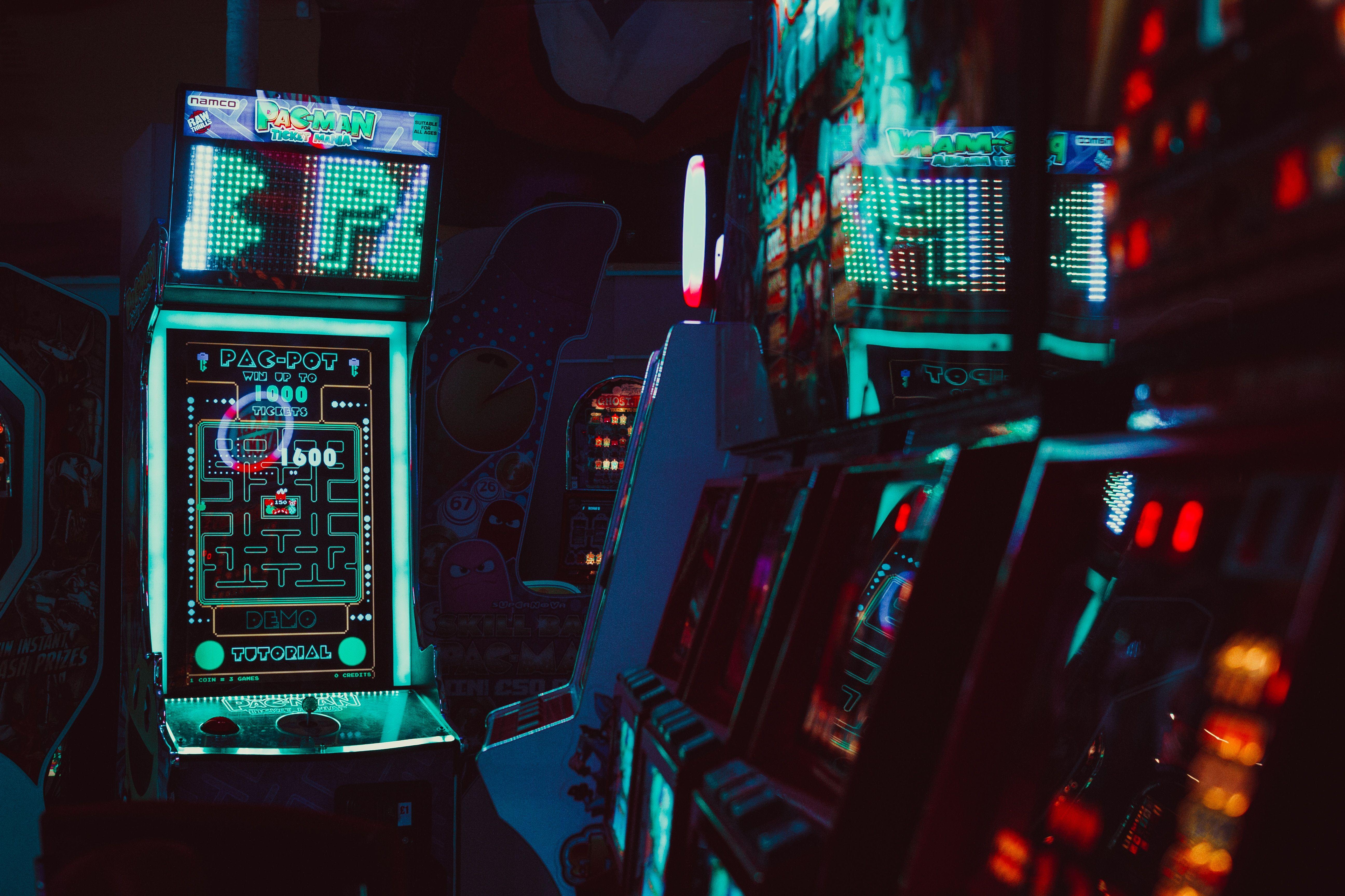 Arcade Retro Games Retro Console Retro Computers Pacman Pac Man Photography 5184x3456