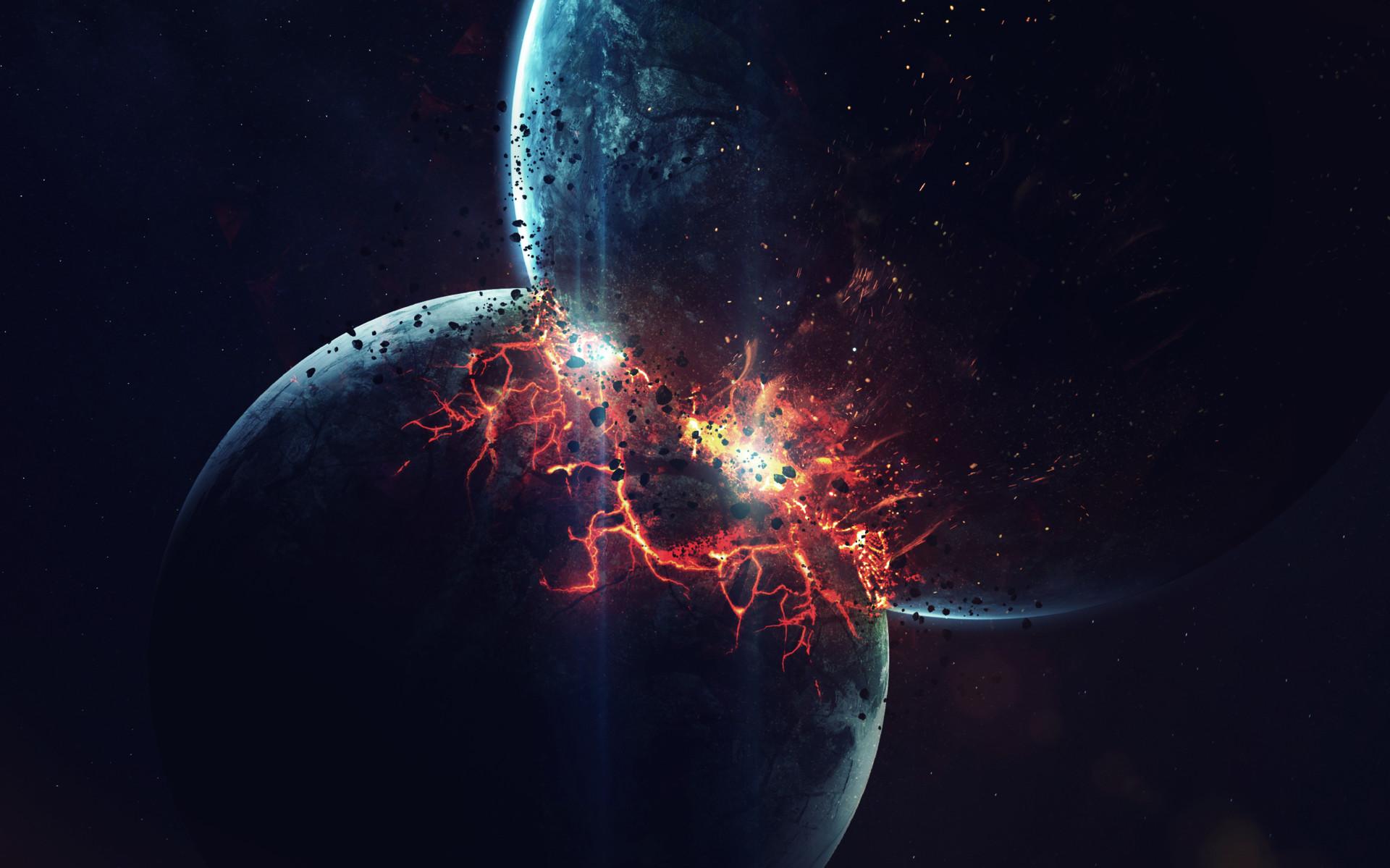 Sci Fi Collision 1920x1199