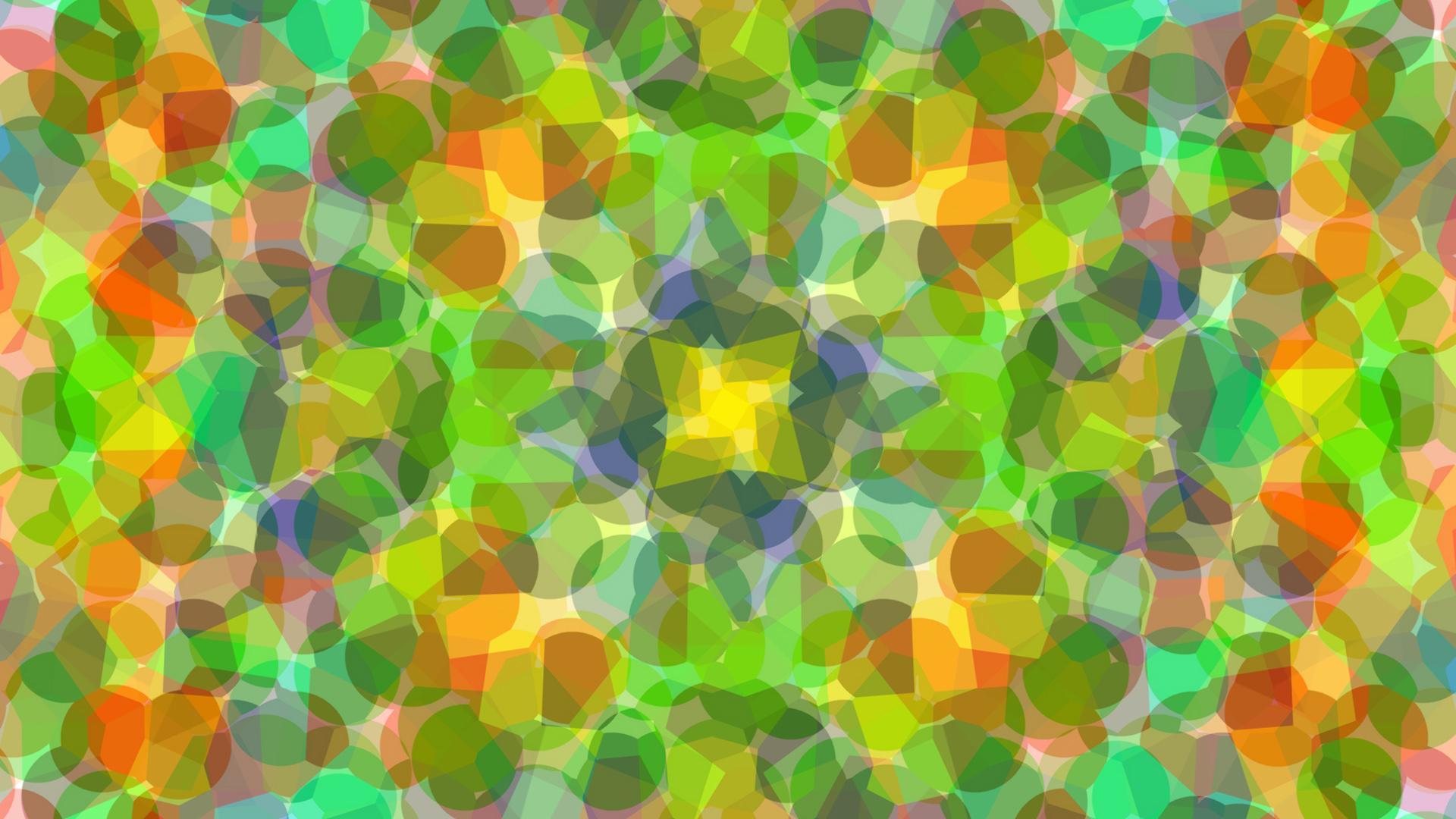 Colors Gradient Shapes 1920x1080