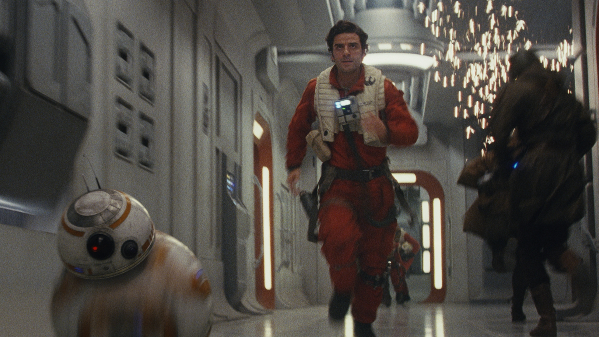 Bb 8 Oscar Isaac Poe Dameron Robot Star Wars Star Wars The Last Jedi 1920x1080