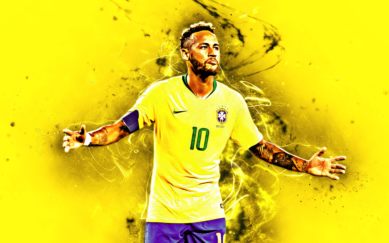 Brazilian Neymar Soccer 2880x1800