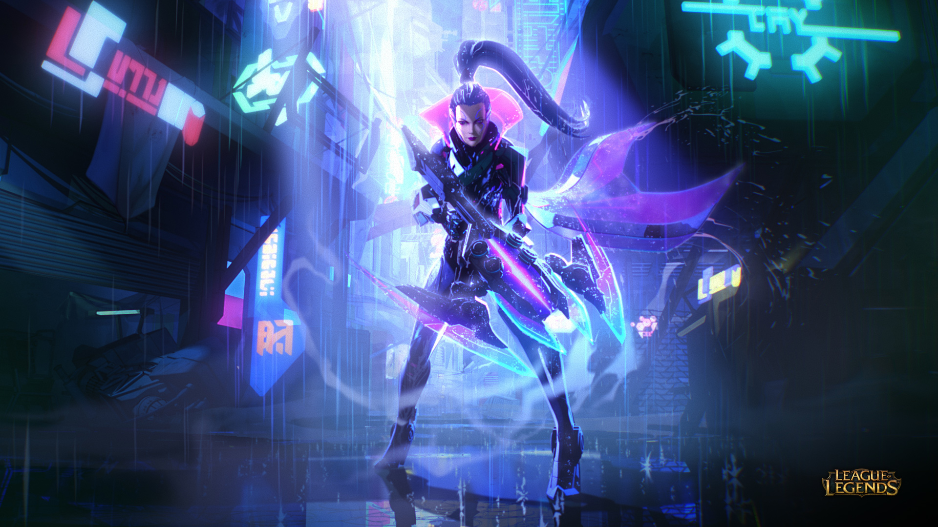 Vayne League Of Legends 1920x1080