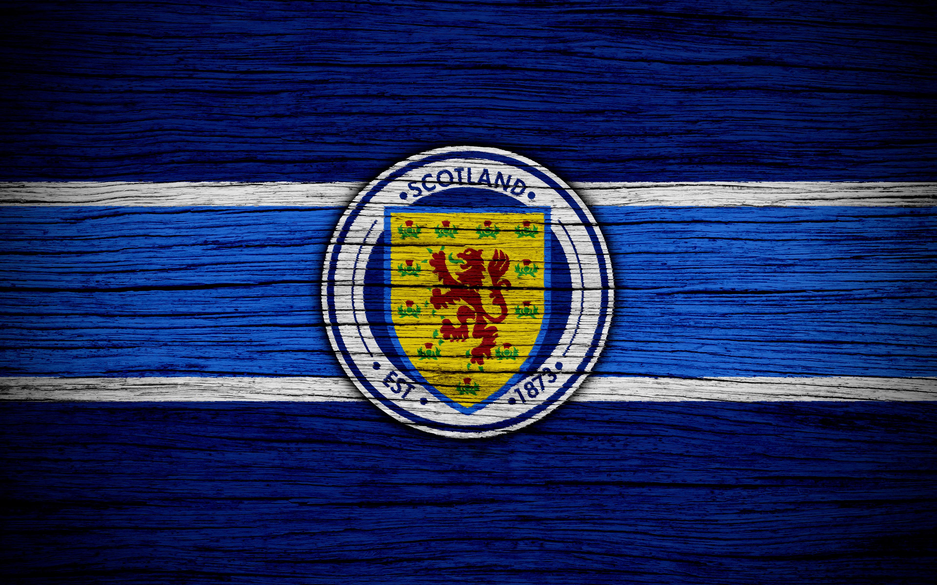 Emblem Logo Scotland Soccer 3840x2400