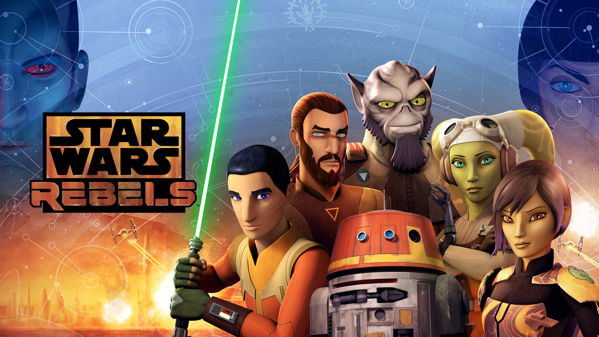 TV Show Star Wars Rebels 2000x1125