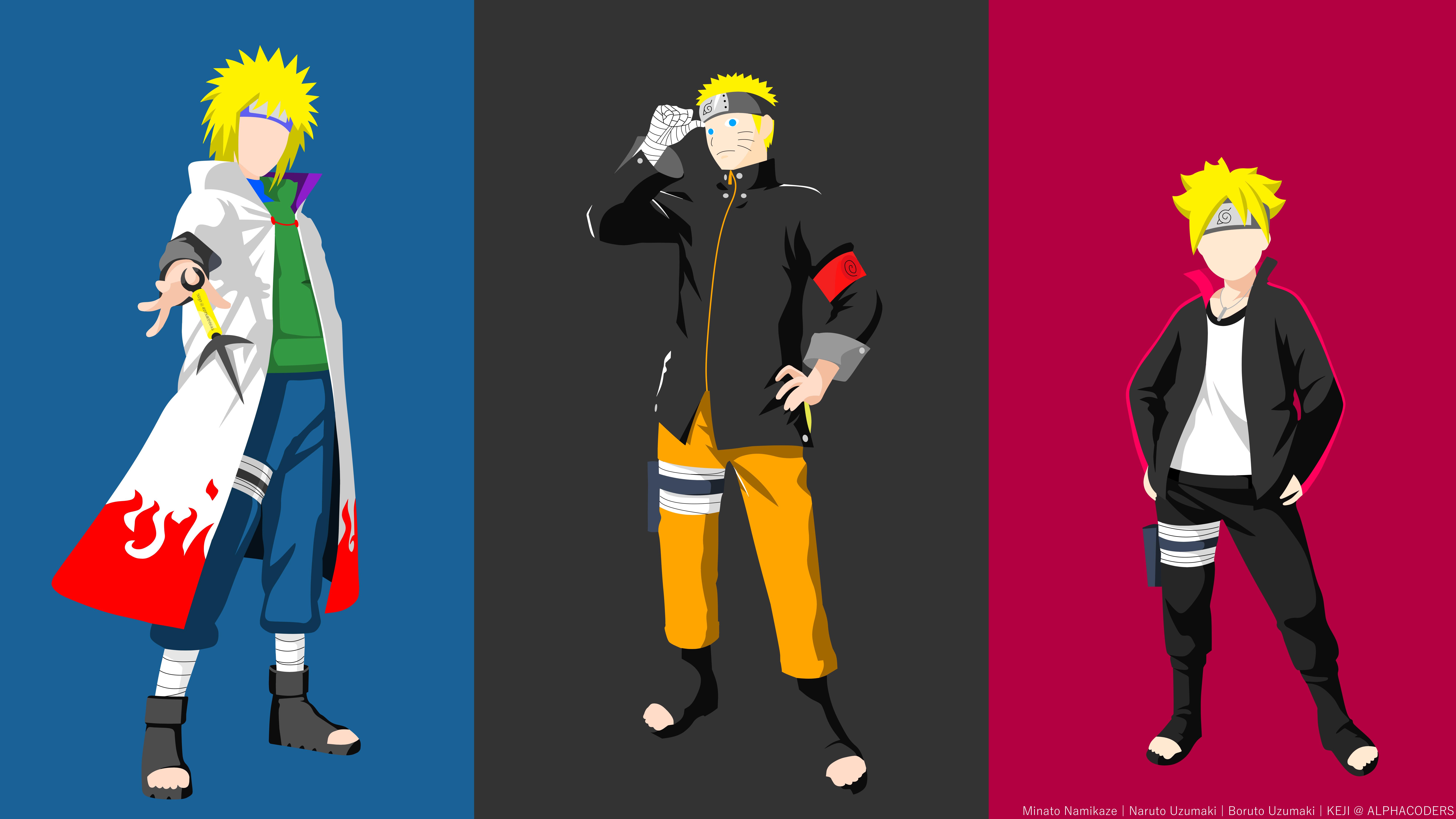 Blonde Boruto Uzumaki Boruto Naruto Next Generations Boy Minato Namikaze Minimalist Naruto Naruto Uz 8000x4500