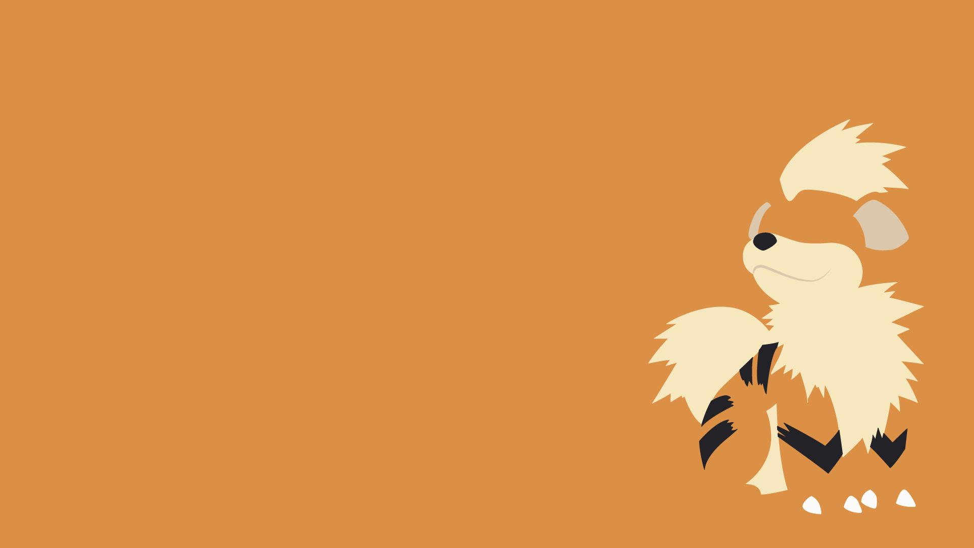 Growlithe Pokemon 1920x1080