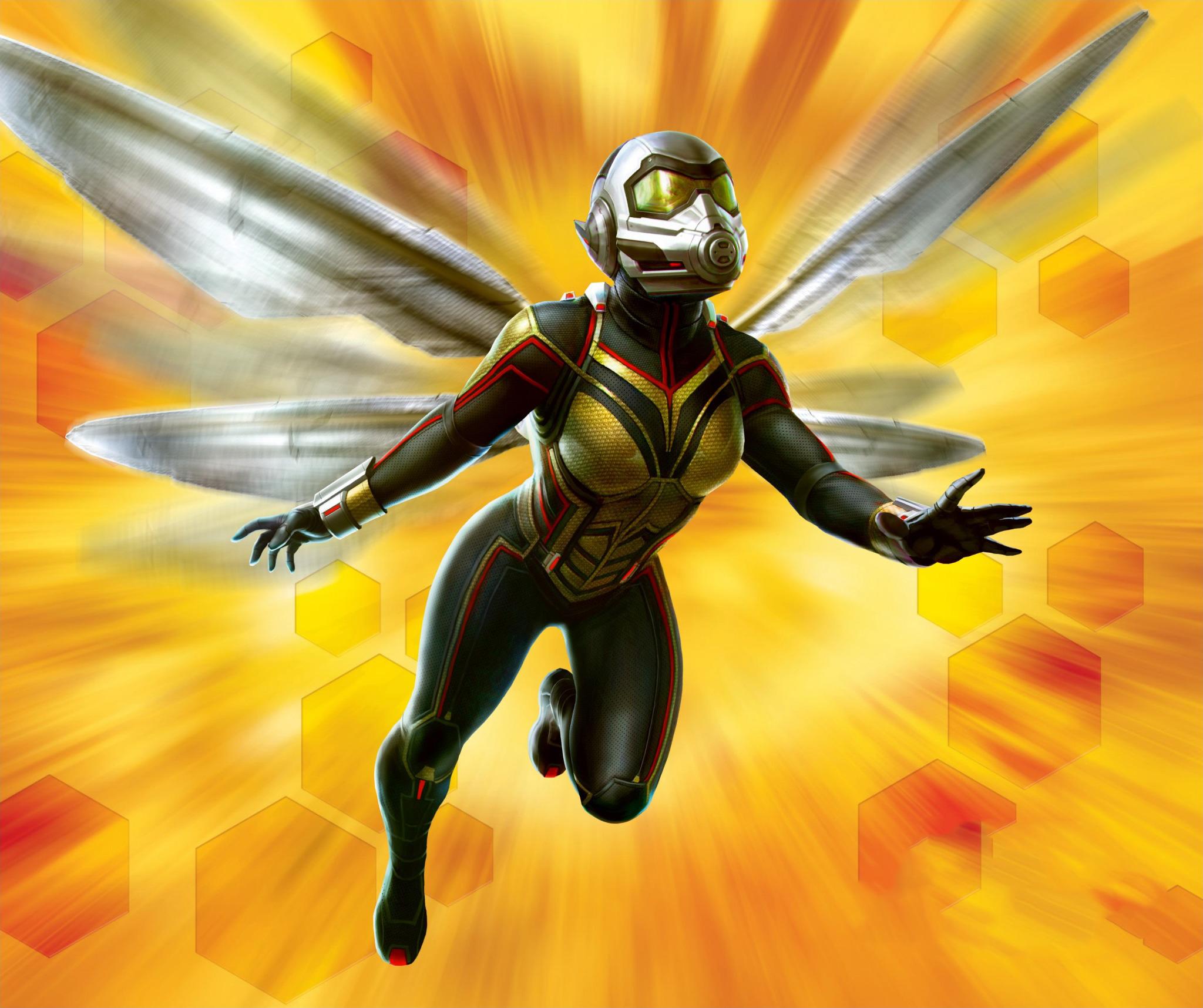 Wasp Marvel Comics 2048x1716