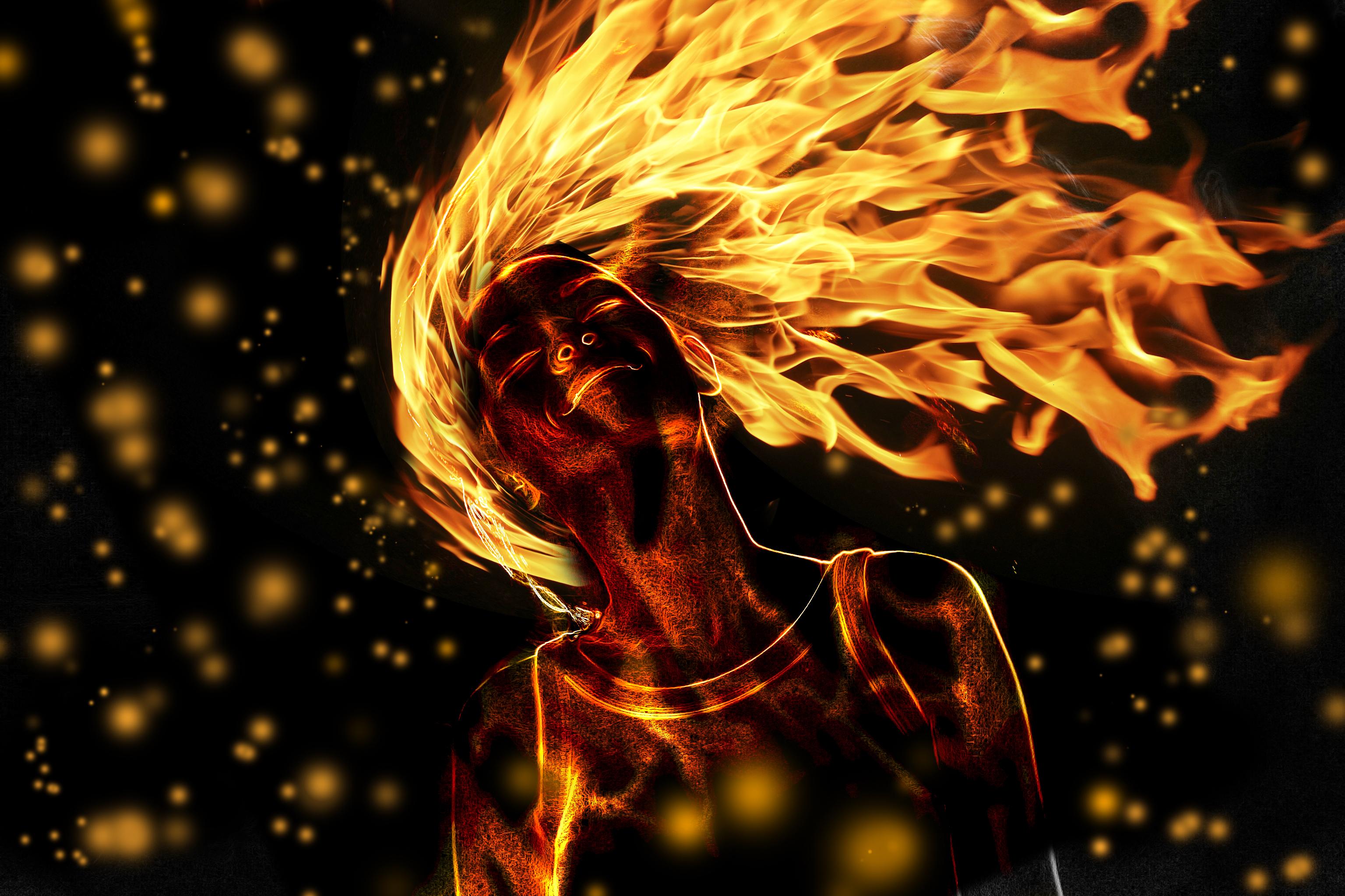 Fire 3072x2048