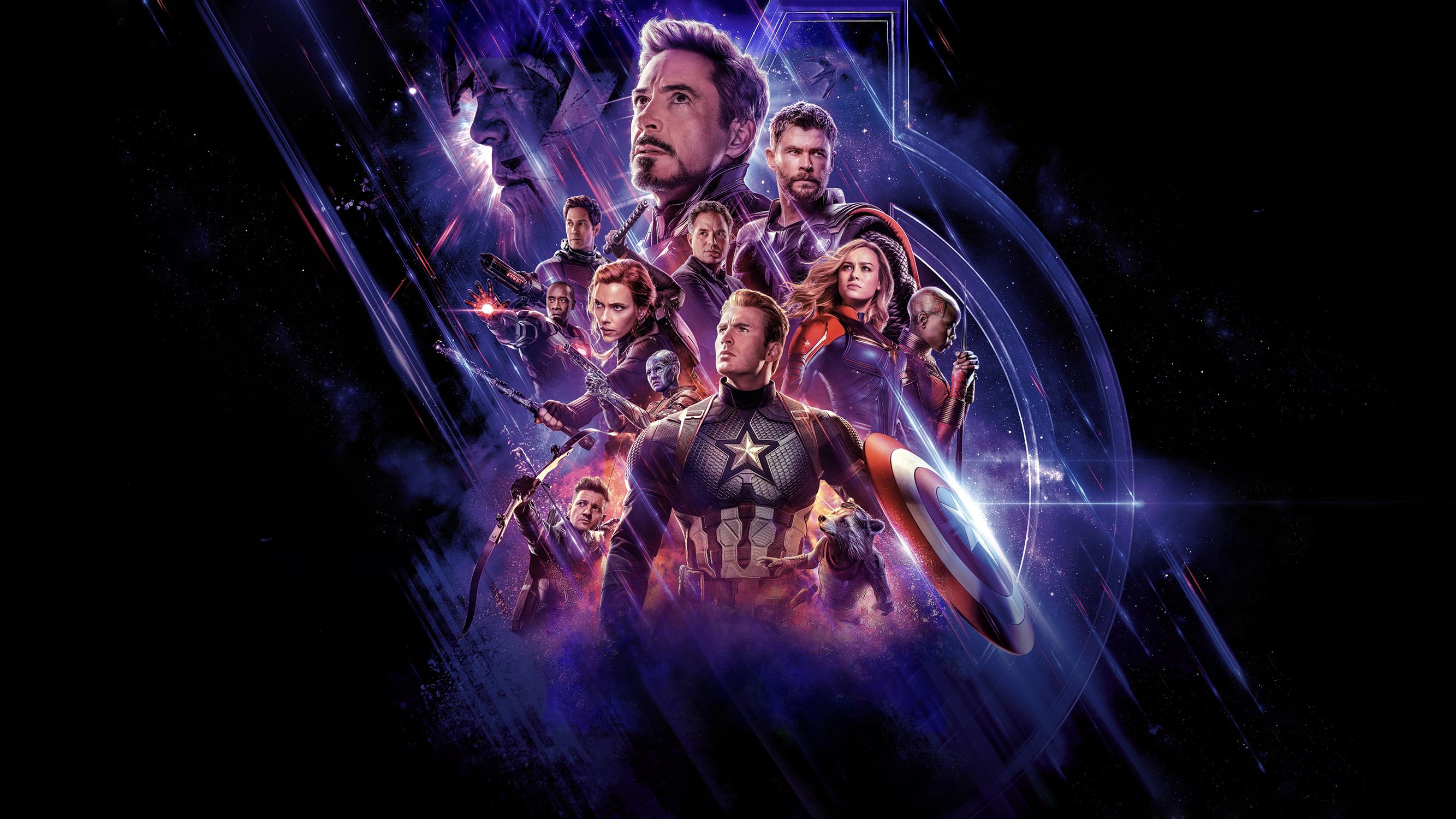 Ant Man Avengers Avengers Endgame Black Widow Brie Larson Bruce Banner Captain America Captain Marve 2667x1500
