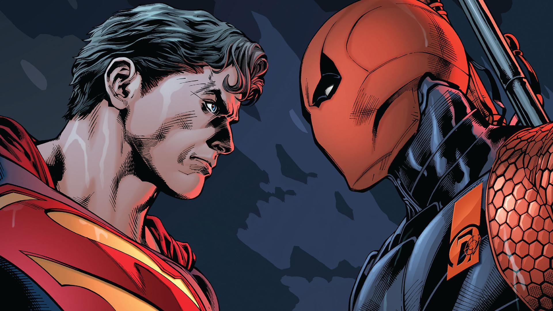 Clark Kent Dc Comics Deathstroke Slade Wilson Superman 1920x1080