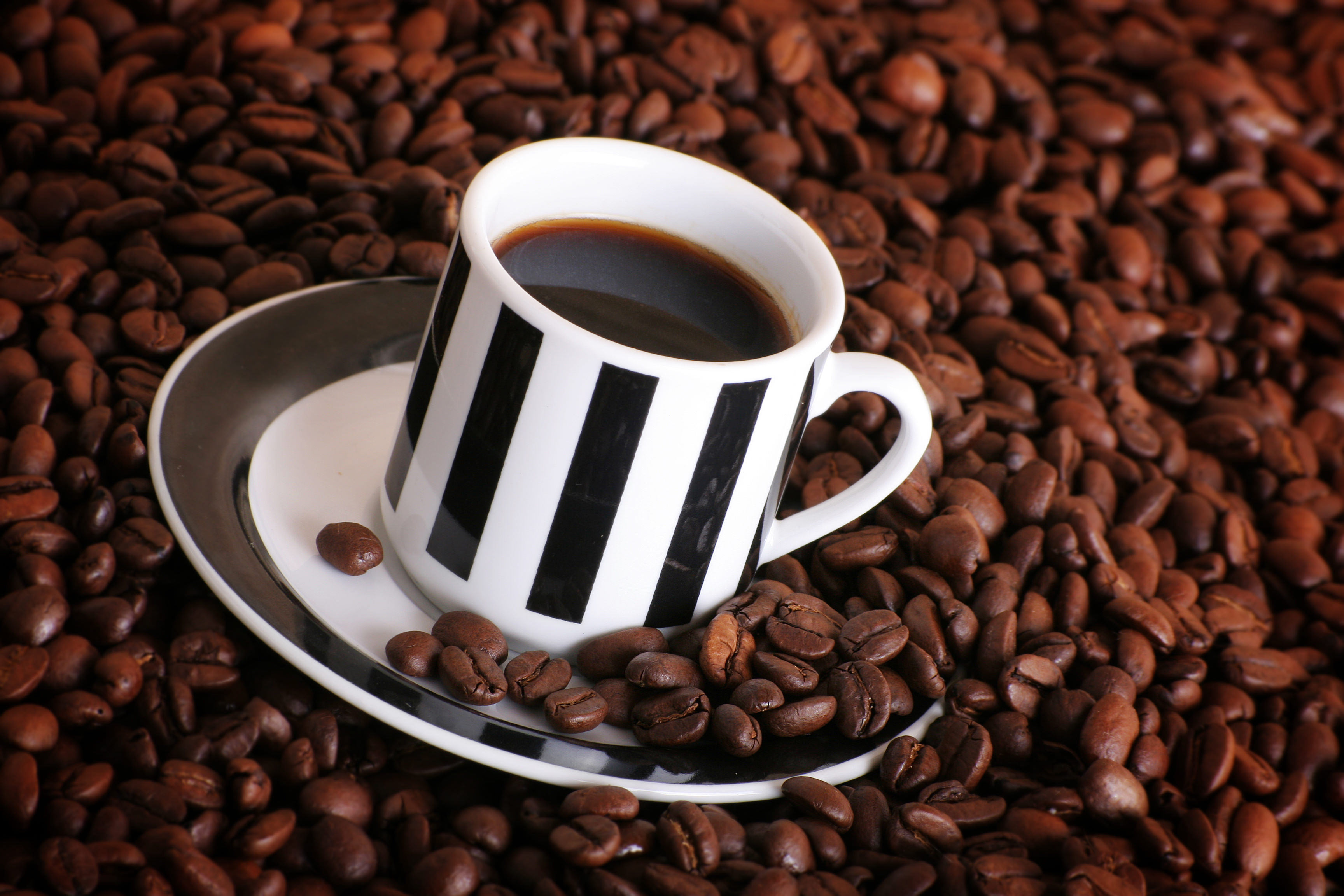 Coffee Coffee Beans Cup 3456x2304