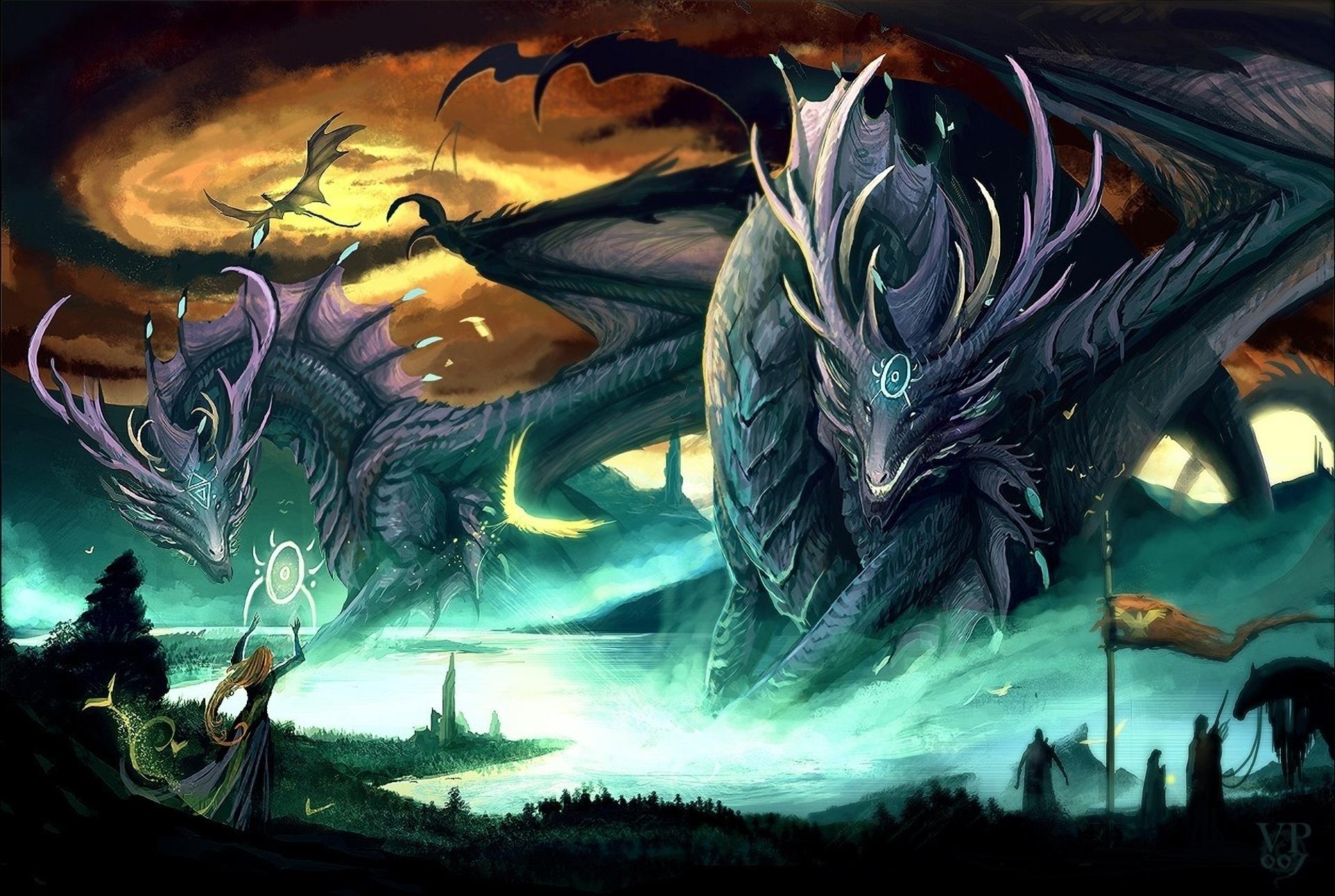 Fantasy Dragon 1920x1289