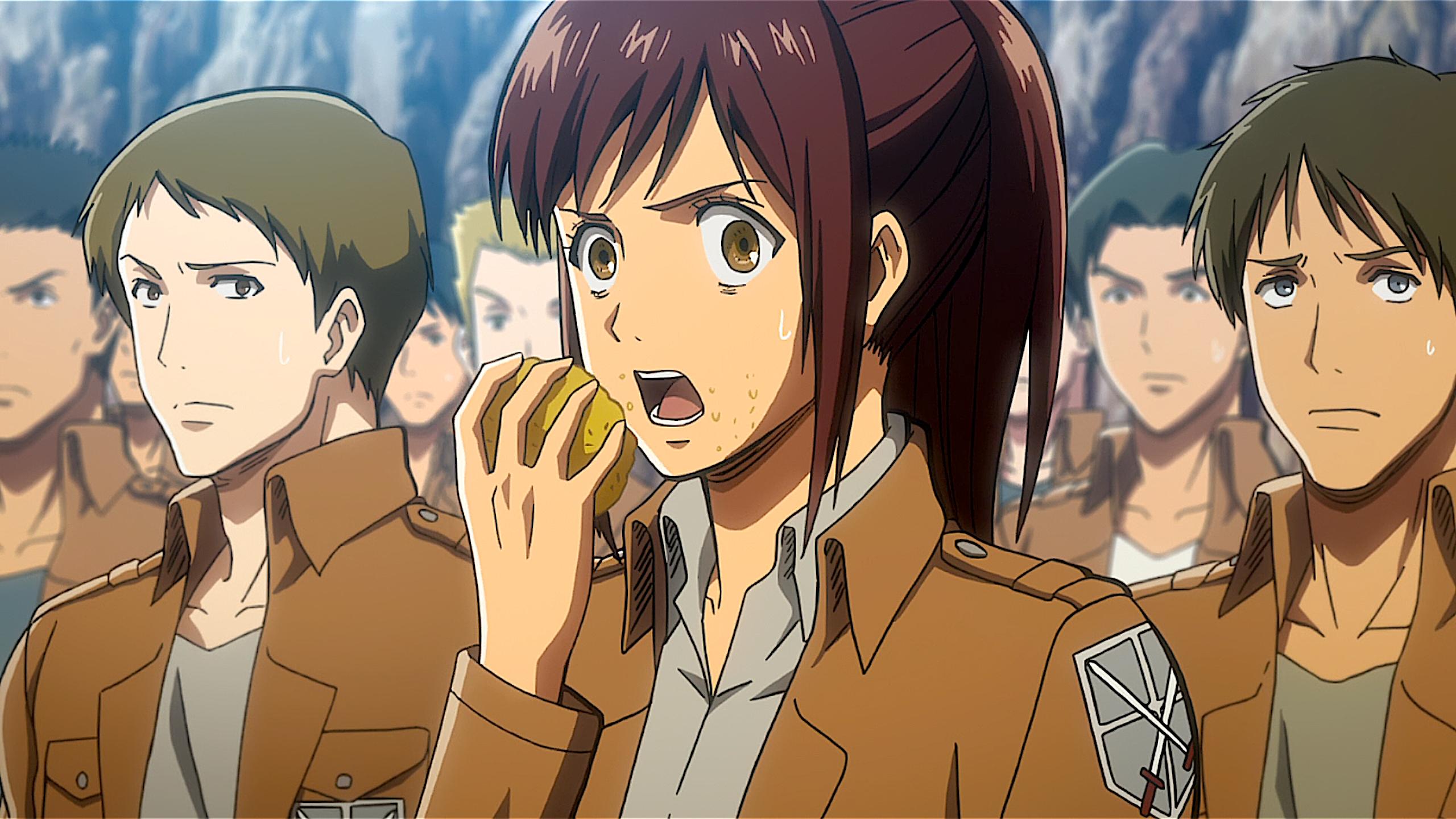 Attack On Titan Sasha Blouse Shingeki No Kyojin 2560x1440