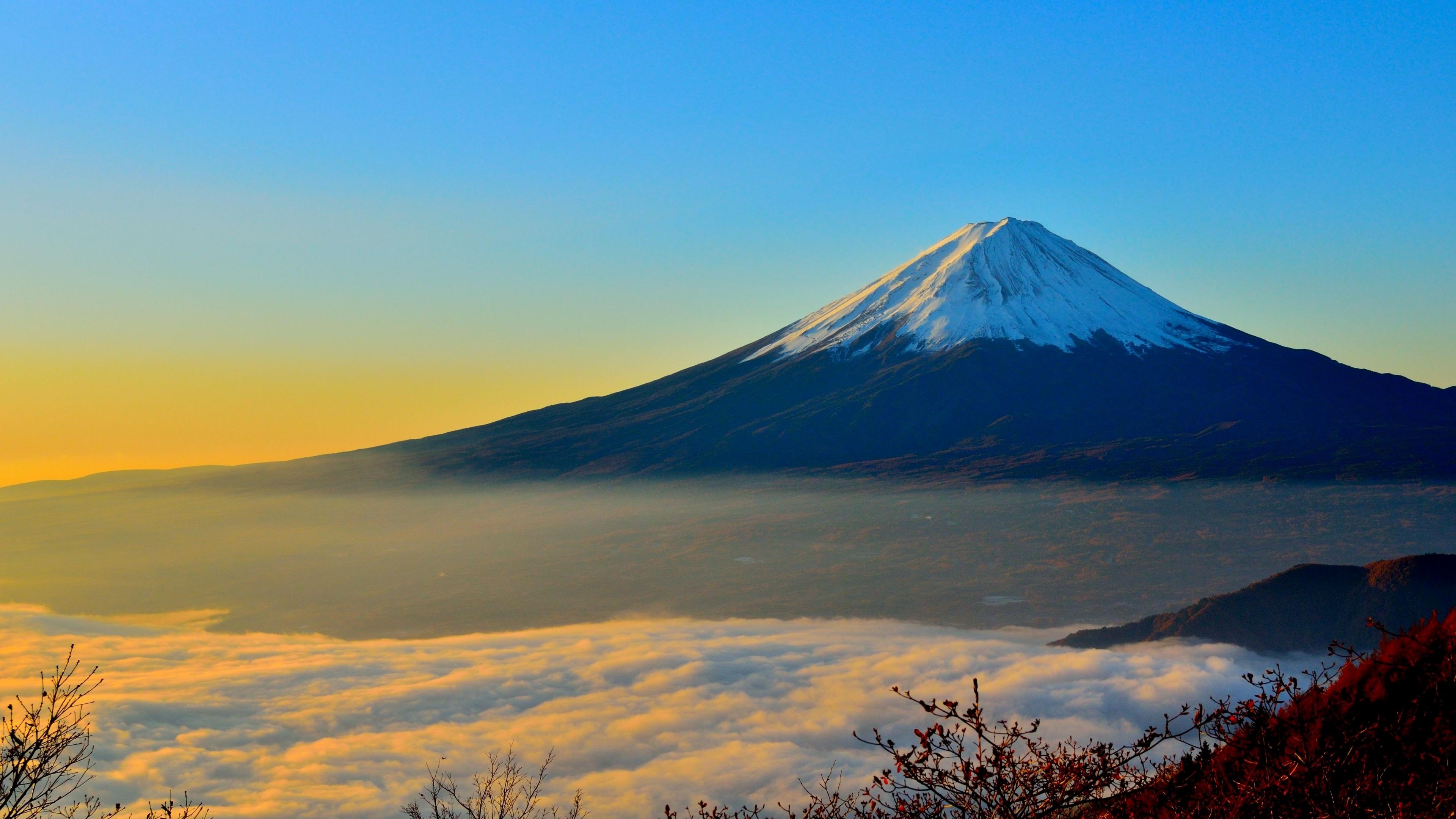 Mount Fuji Mountain 3840x2160