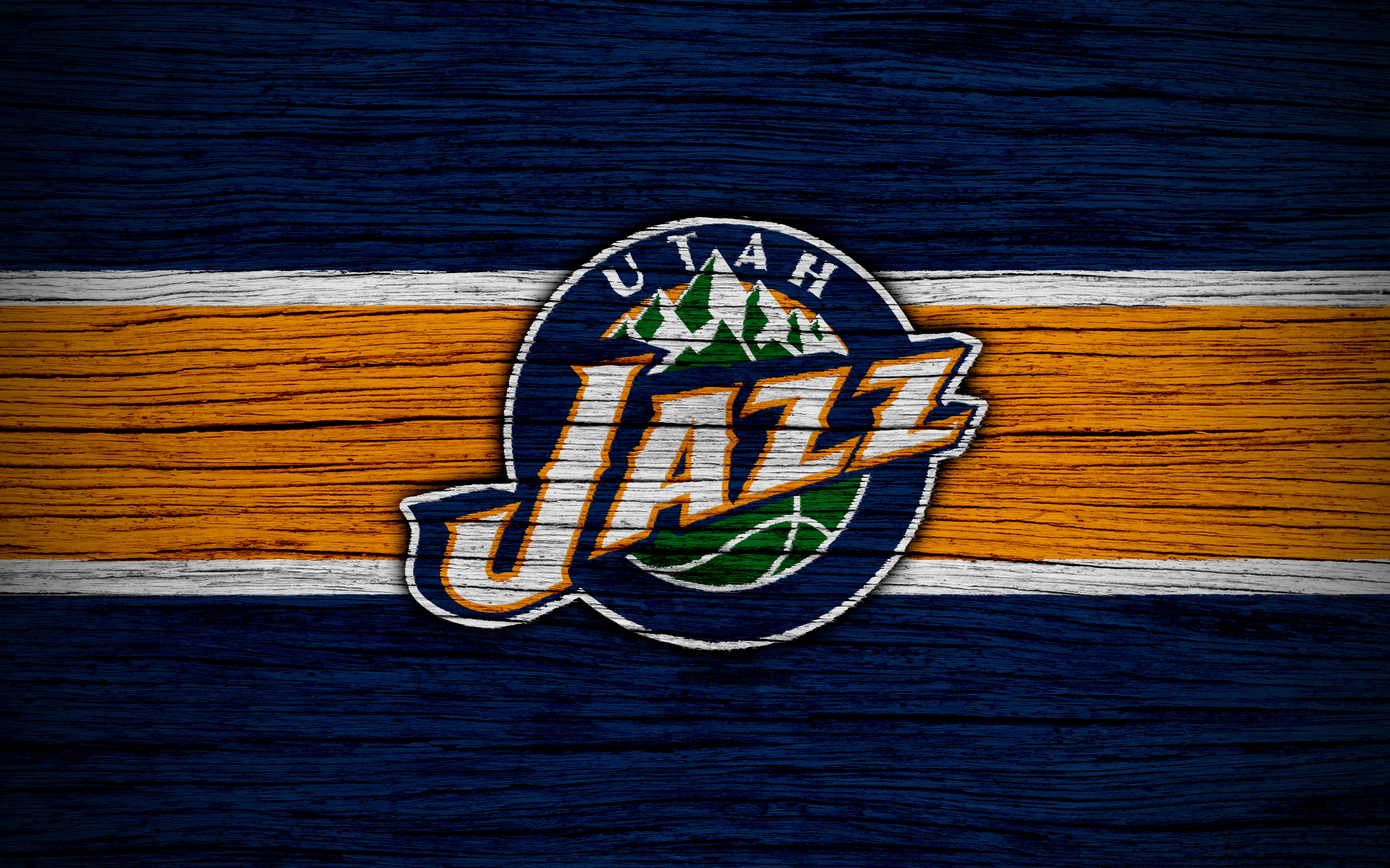 Basketball Logo Nba Utah Jazz 3840x2400