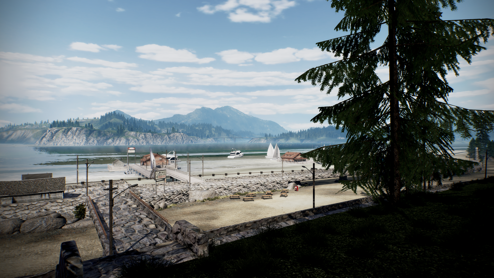 Need For Speed Hot Pursuit Beach Screen Shot 1920x1080