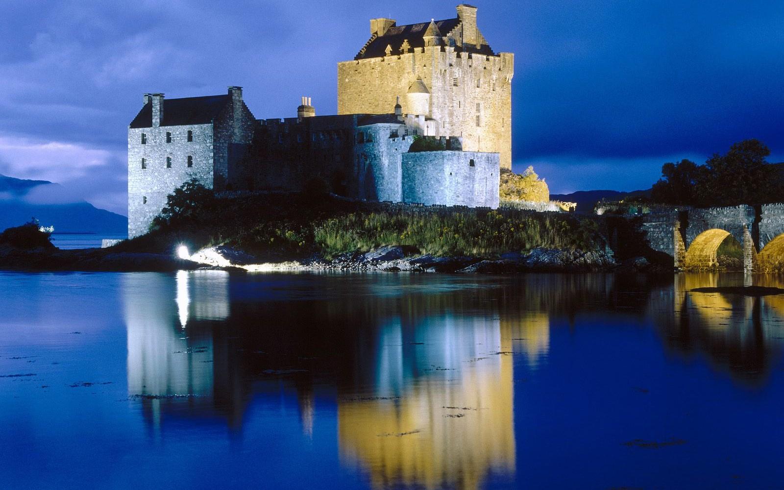 Man Made Eilean Donan Castle 1600x1000