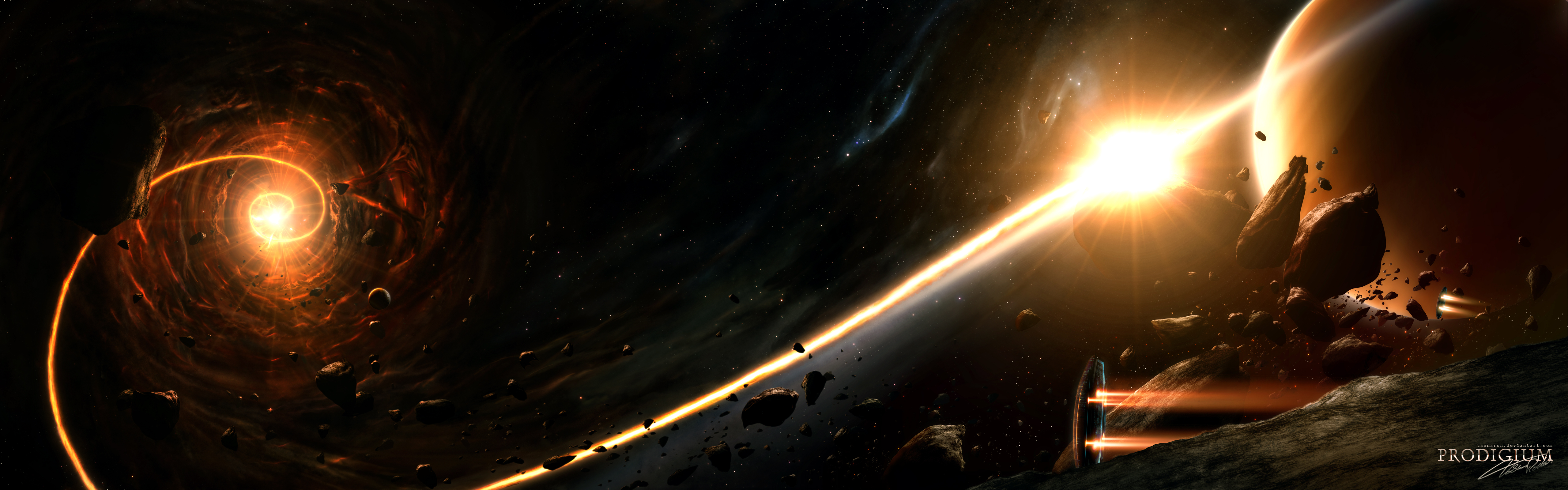 Planet 5120x1600