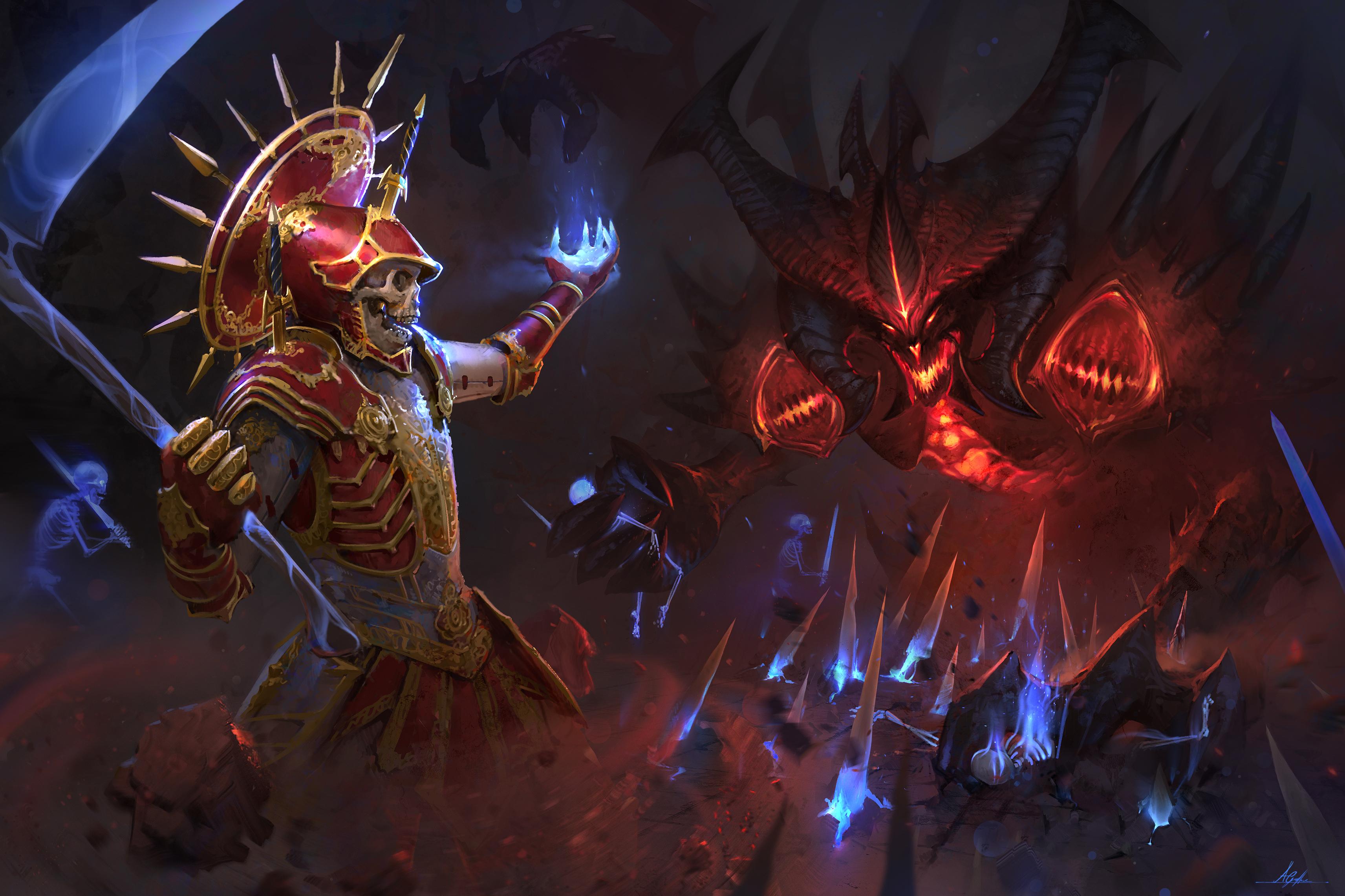 Diablo Diablo Iii Necromancer Diablo Iii 3425x2283