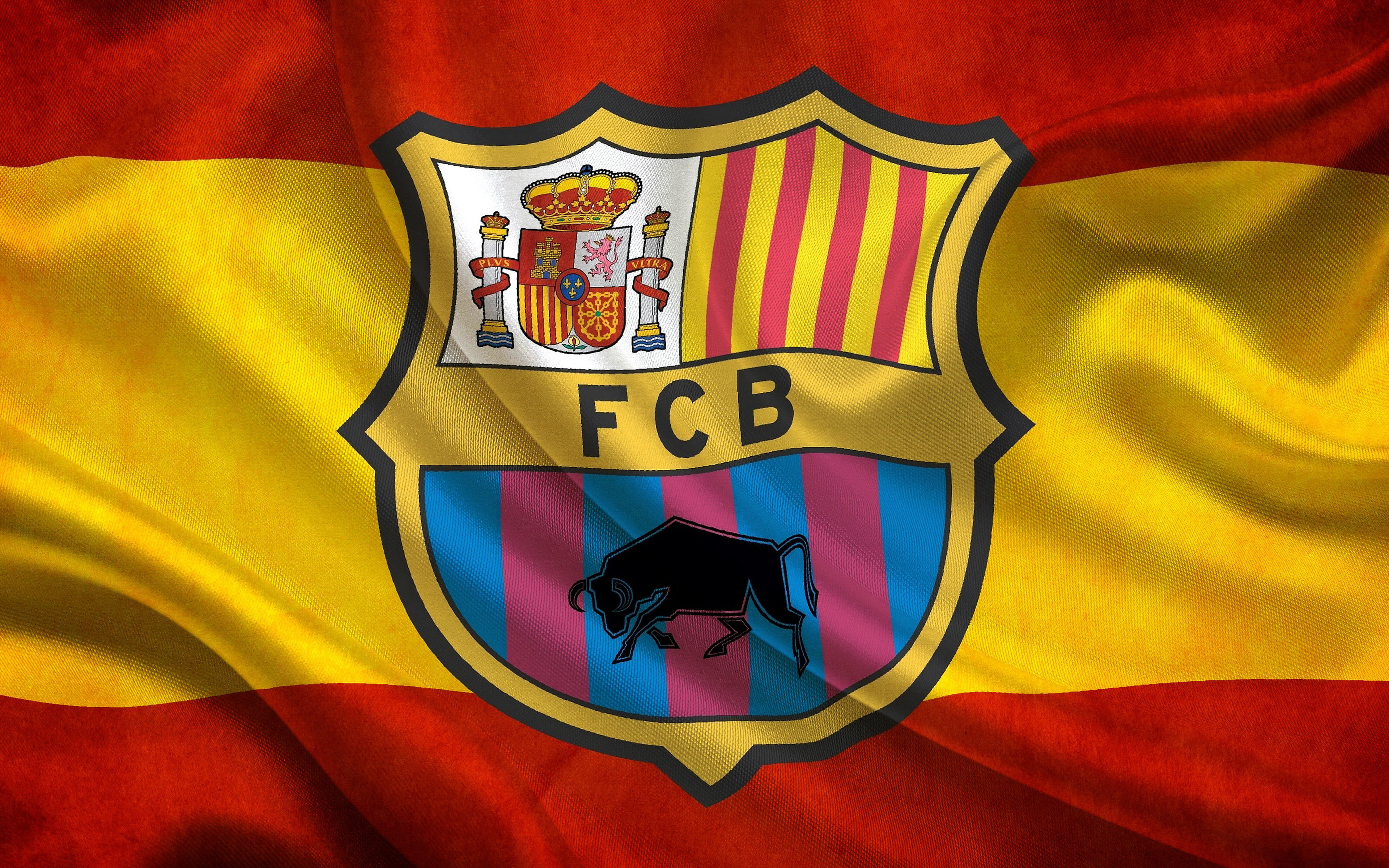 Fc Barcelona Logo Soccer 3840x2400