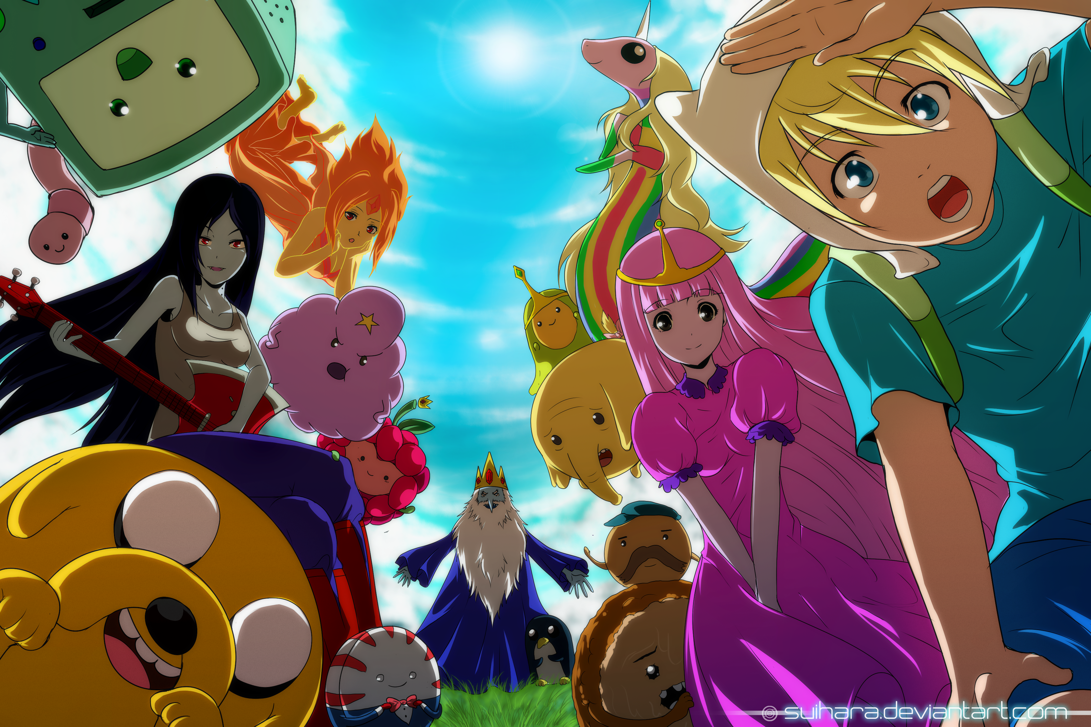 Adventure Time Bmo Adventure Time Finn Adventure Time Ice King Adventure Time Jake Adventure Time Ma 3600x2400