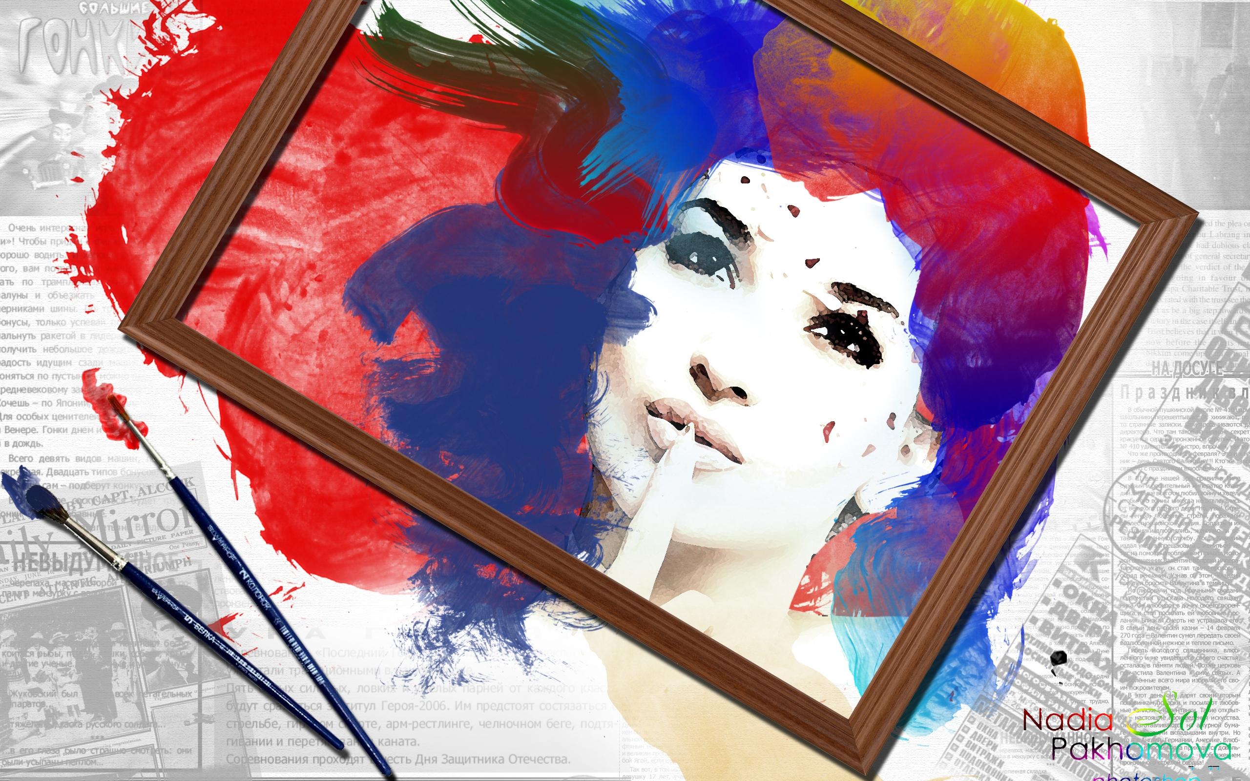 Women Artistic 2560x1600