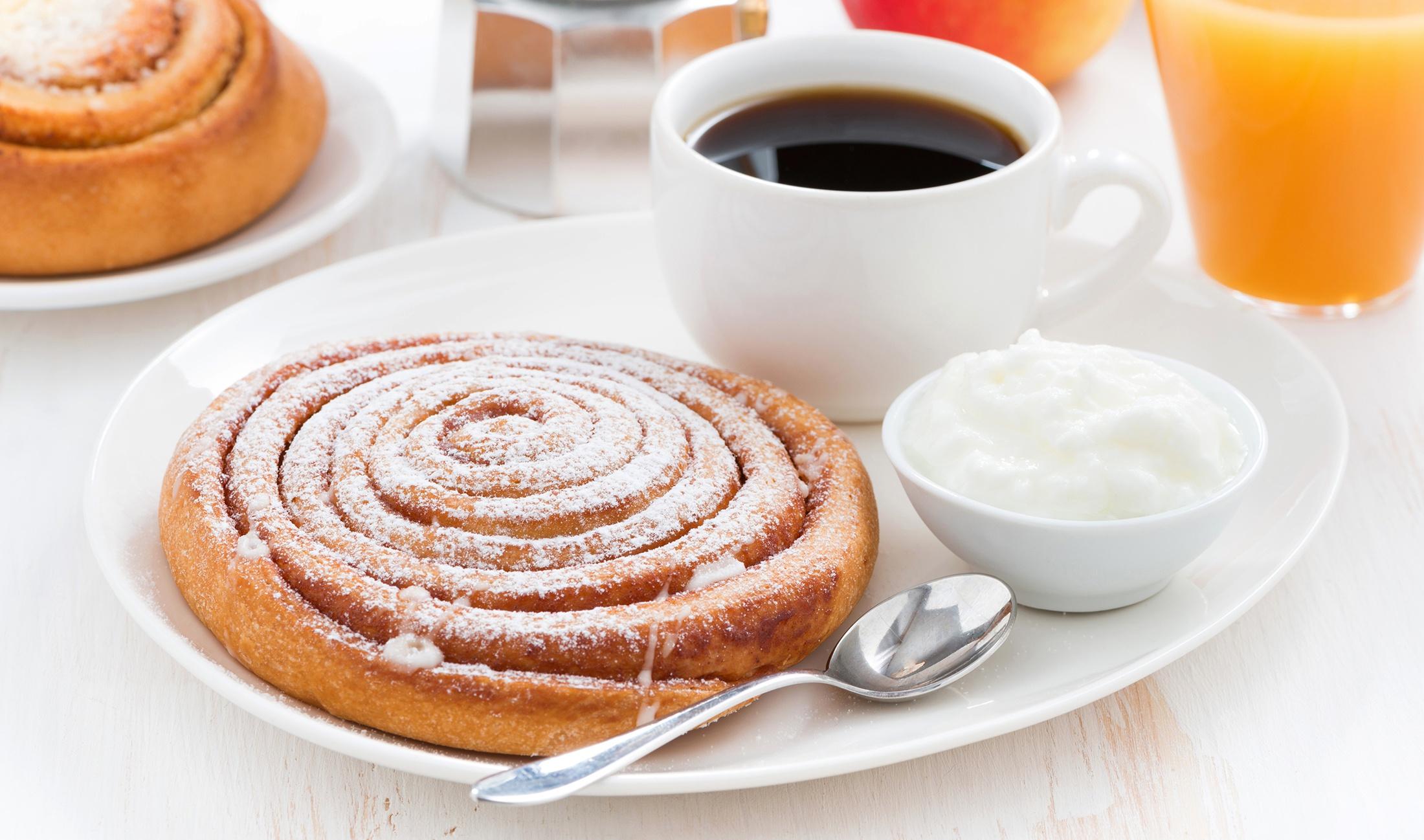 Breakfast Coffee Cup Still Life Viennoiserie 2200x1298