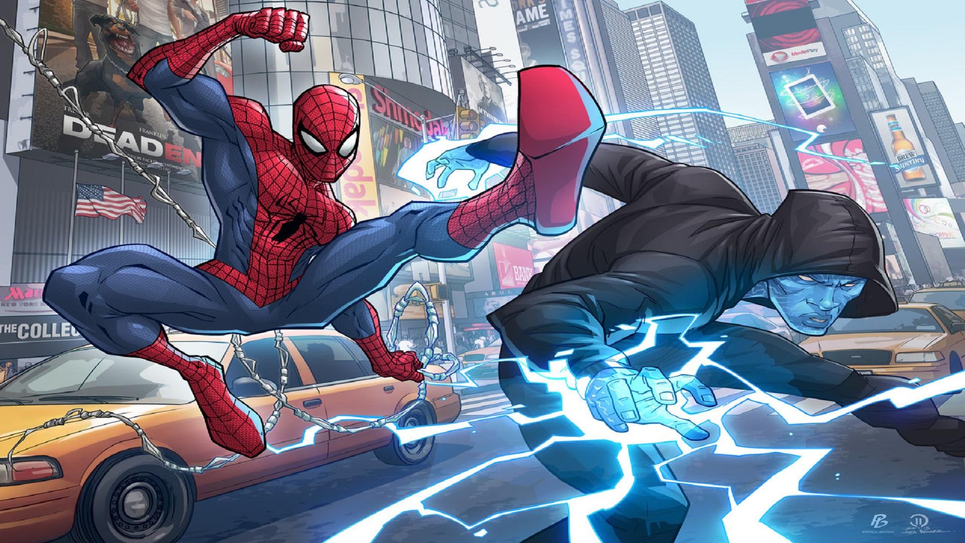 Electro Marvel Comics Spider Man The Amazing Spider Man 2 1920x1080